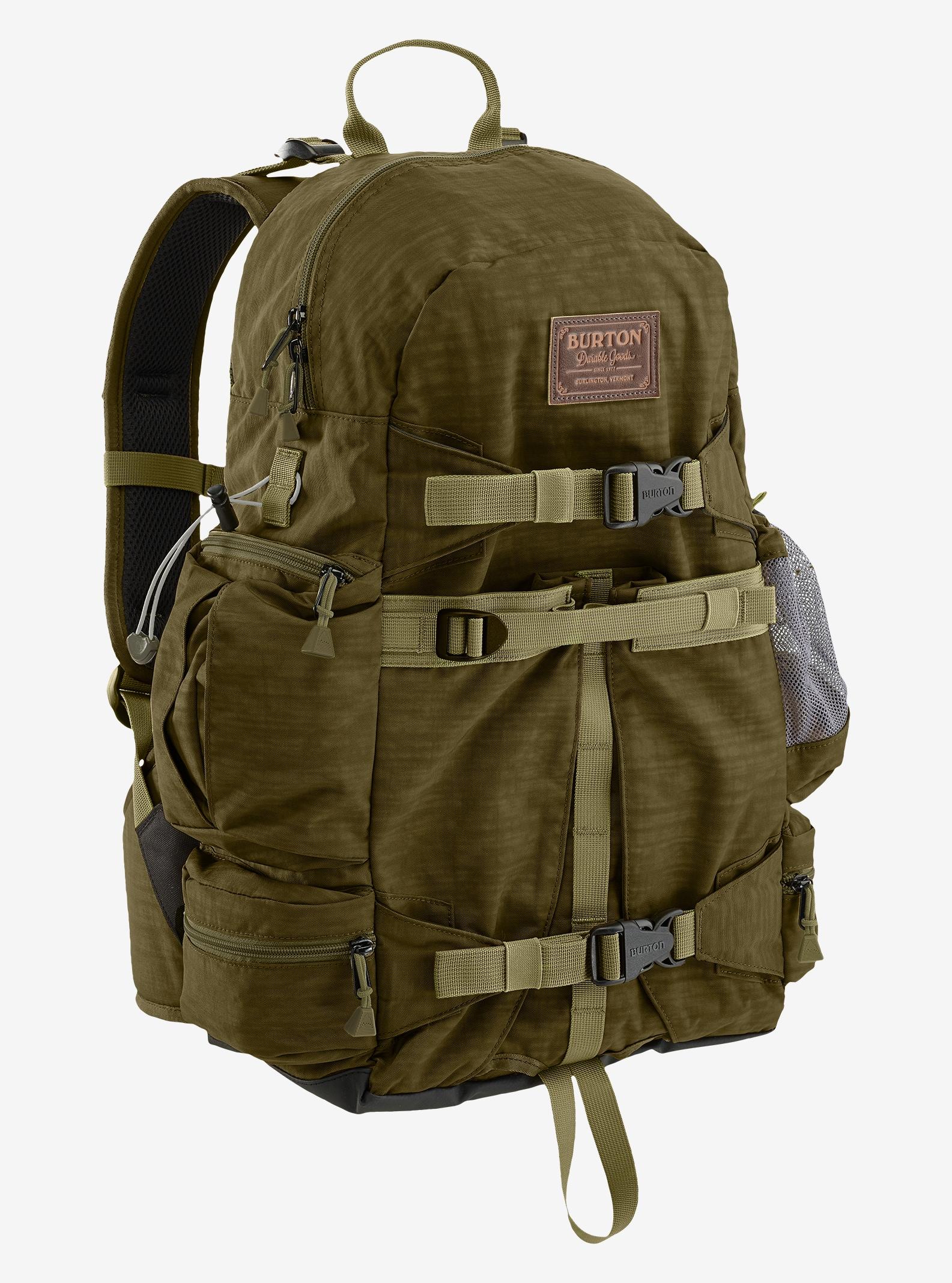 Burton Zoom 26L Backpack shown in Drab Crinkle