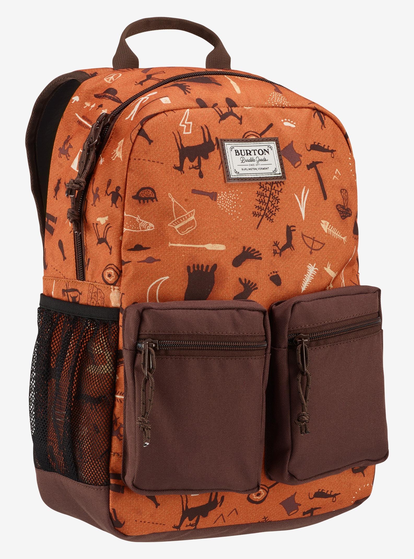 Burton Kids' Gromlet Backpack shown in Caveman Print