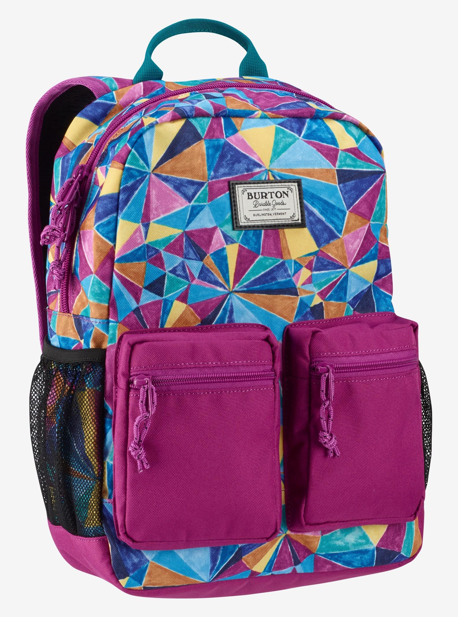 Burton Kids' Gromlet Backpack shown in Polka Diamond Print