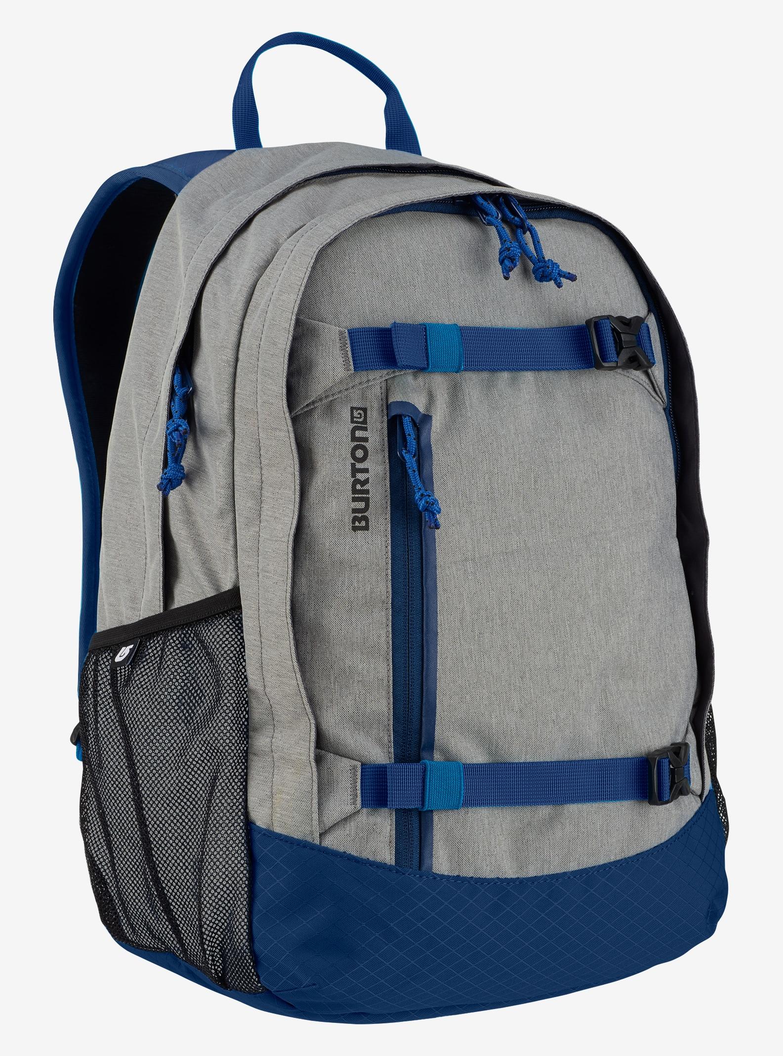 Burton Kids' Day Hiker 20L Backpack shown in Dark Ash Heather
