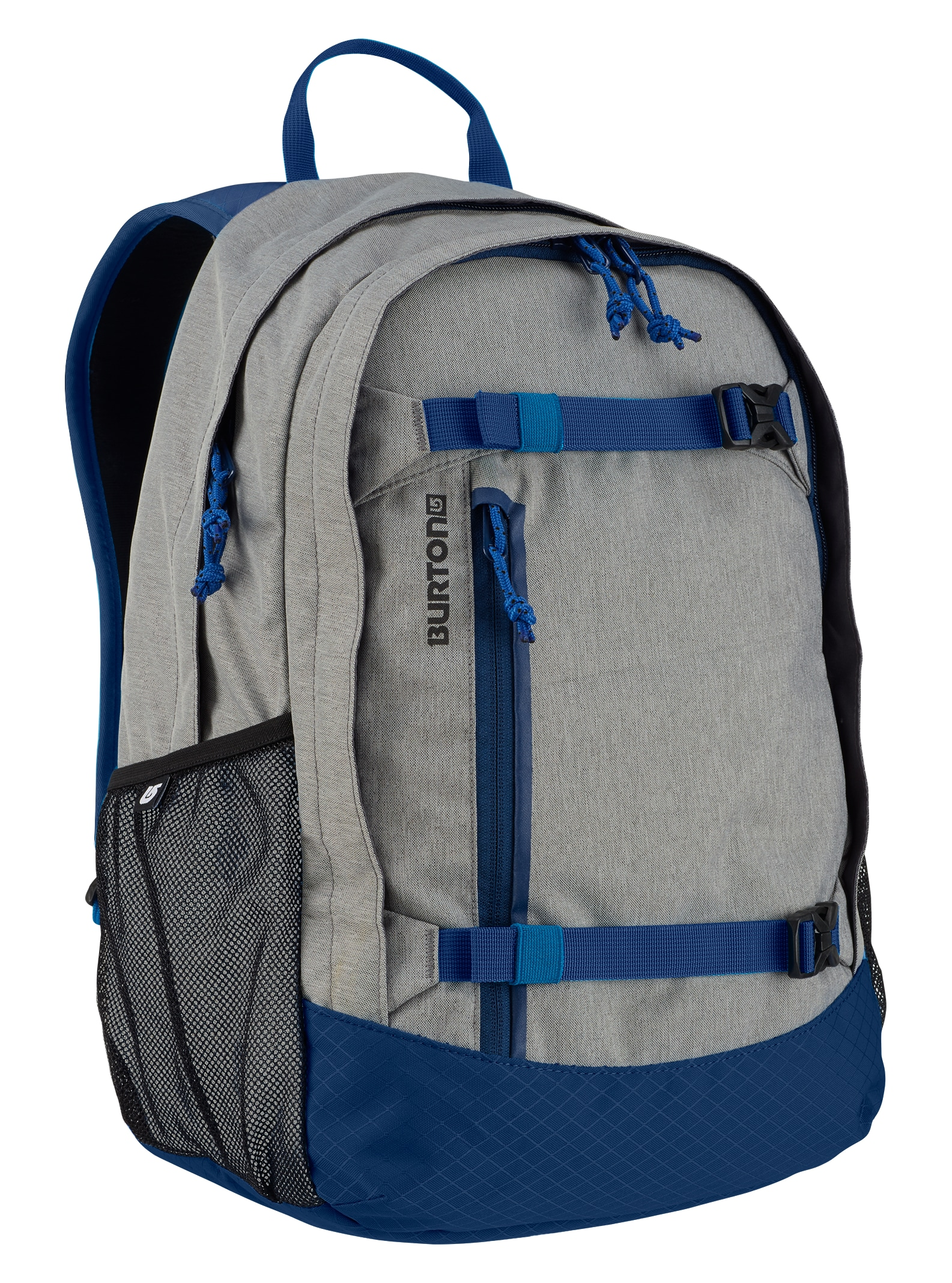 Burton Kids' Day Hiker 20L Backpack shown in Dark Ash Heather