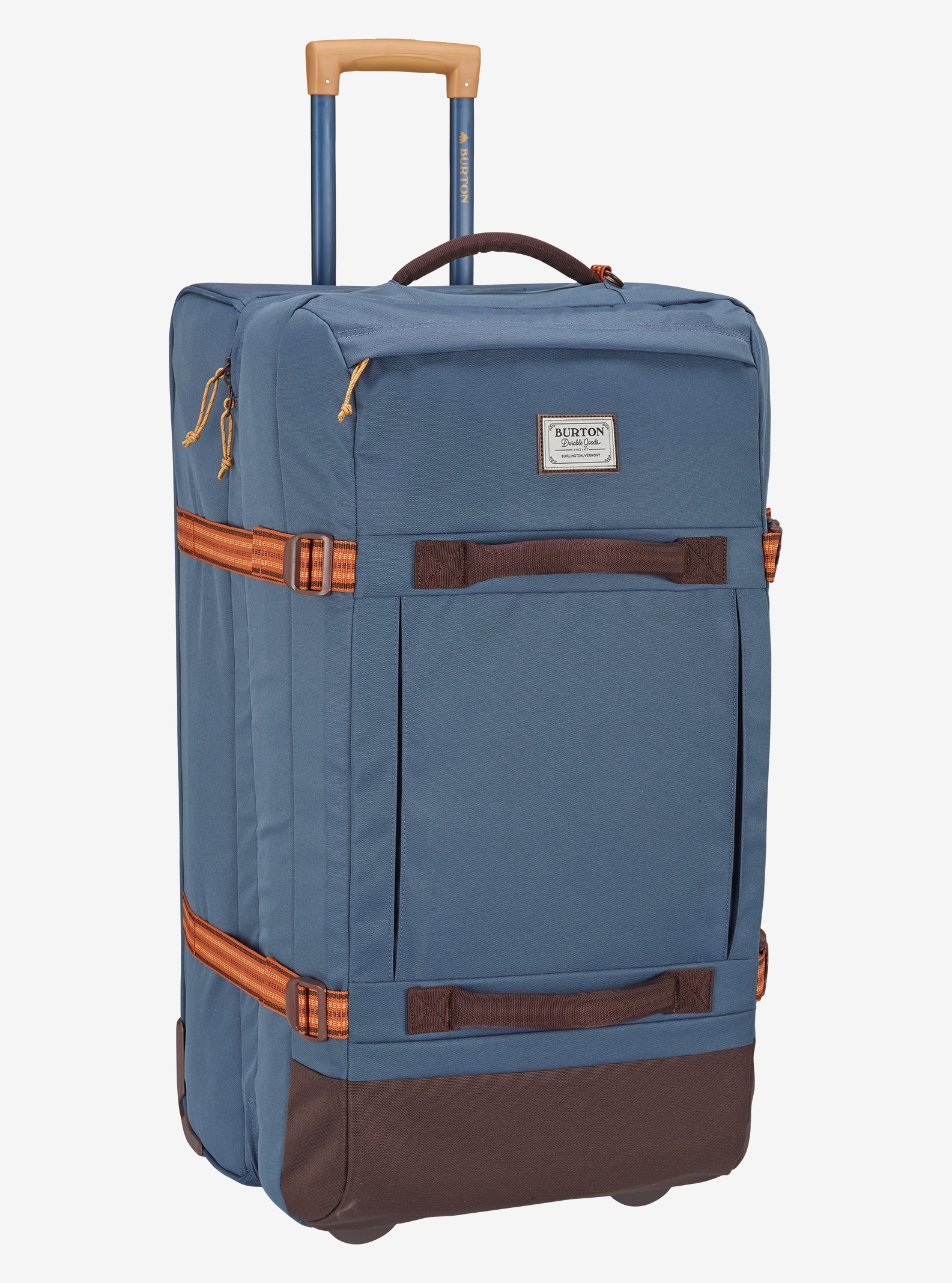 Burton Exodus Roller Travel Bag shown in Washed Blue