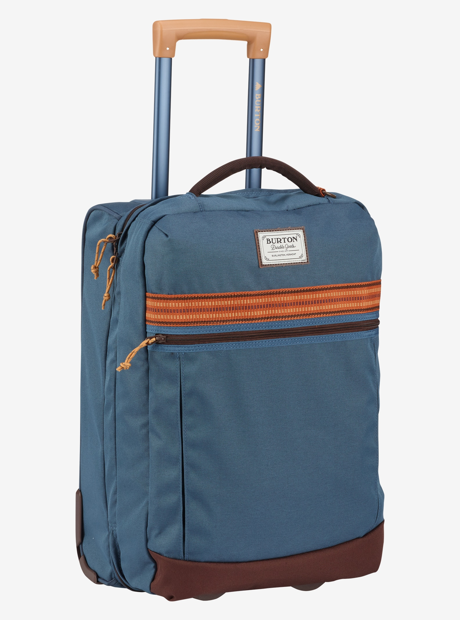 Burton Overnighter Roller Travel Bag shown in Washed Blue