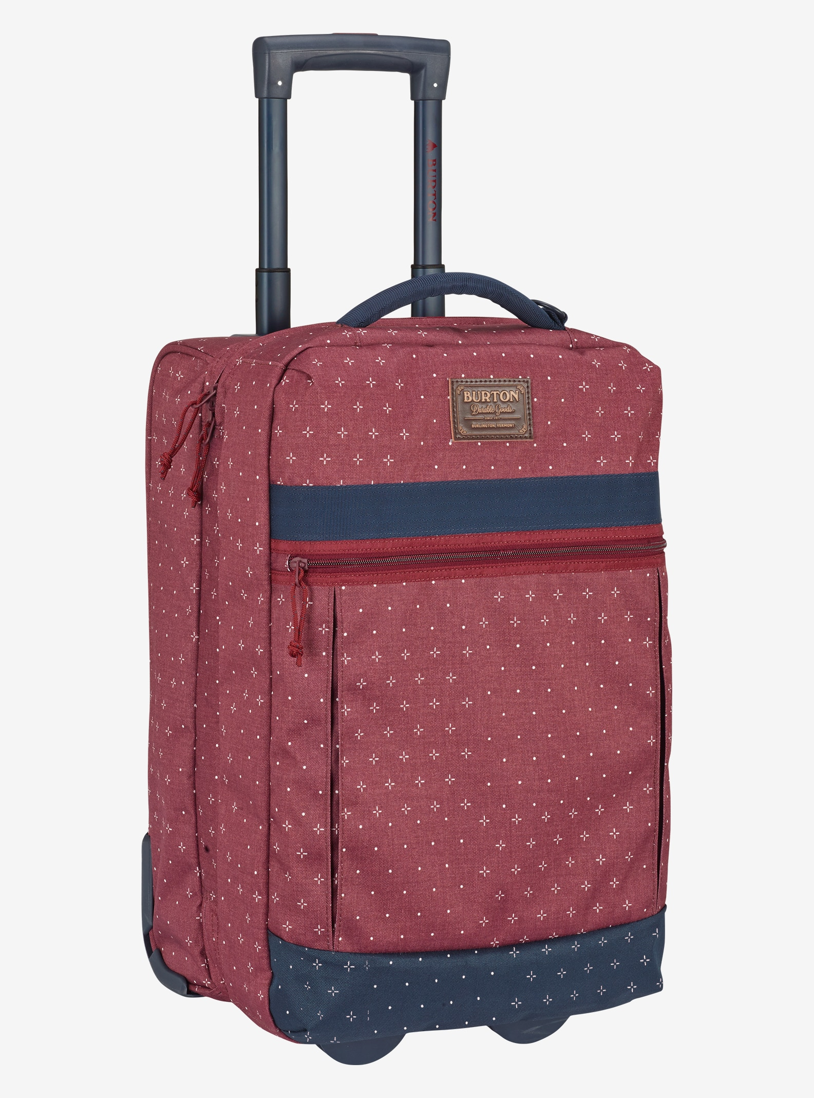 Burton Overnighter Roller Travel Bag shown in Mandana Print