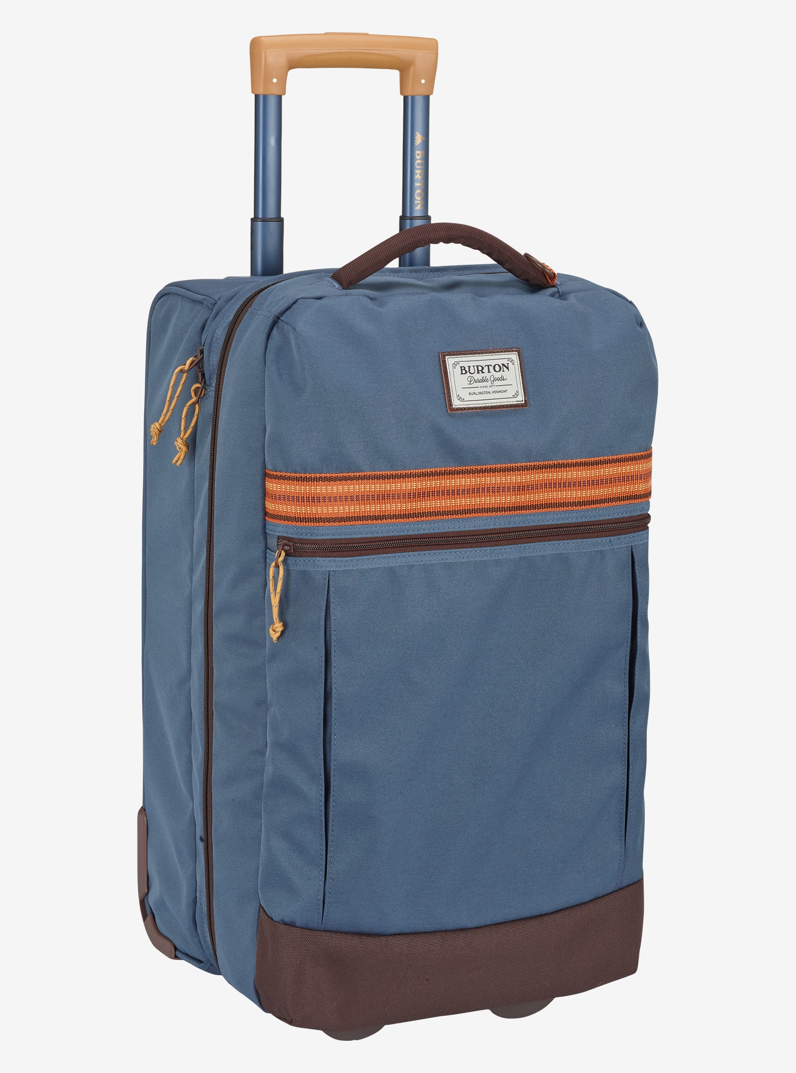 Burton Charter Roller Travel Bag shown in Washed Blue