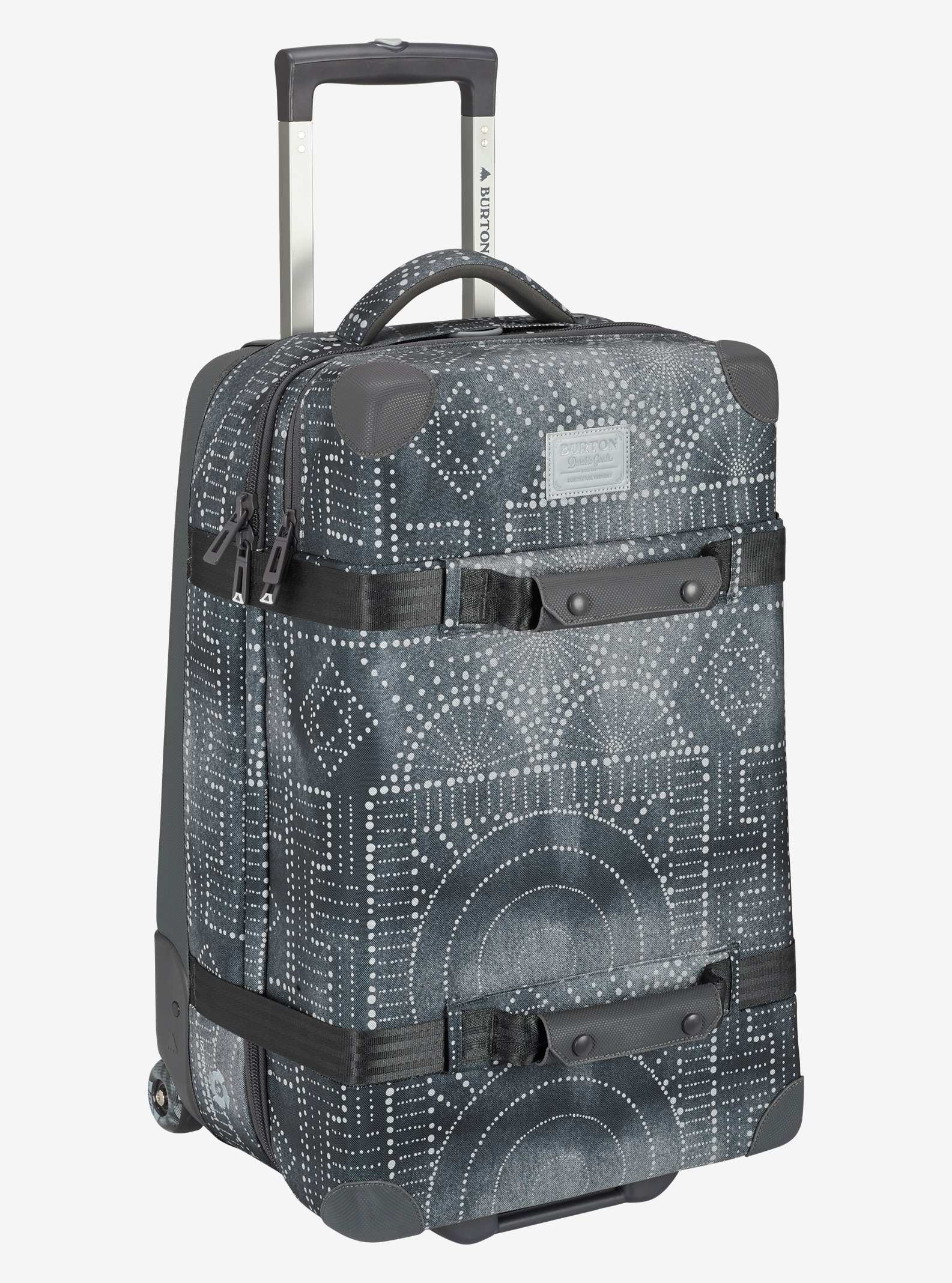 Burton Wheelie Cargo Travel Bag shown in Bandotta Print