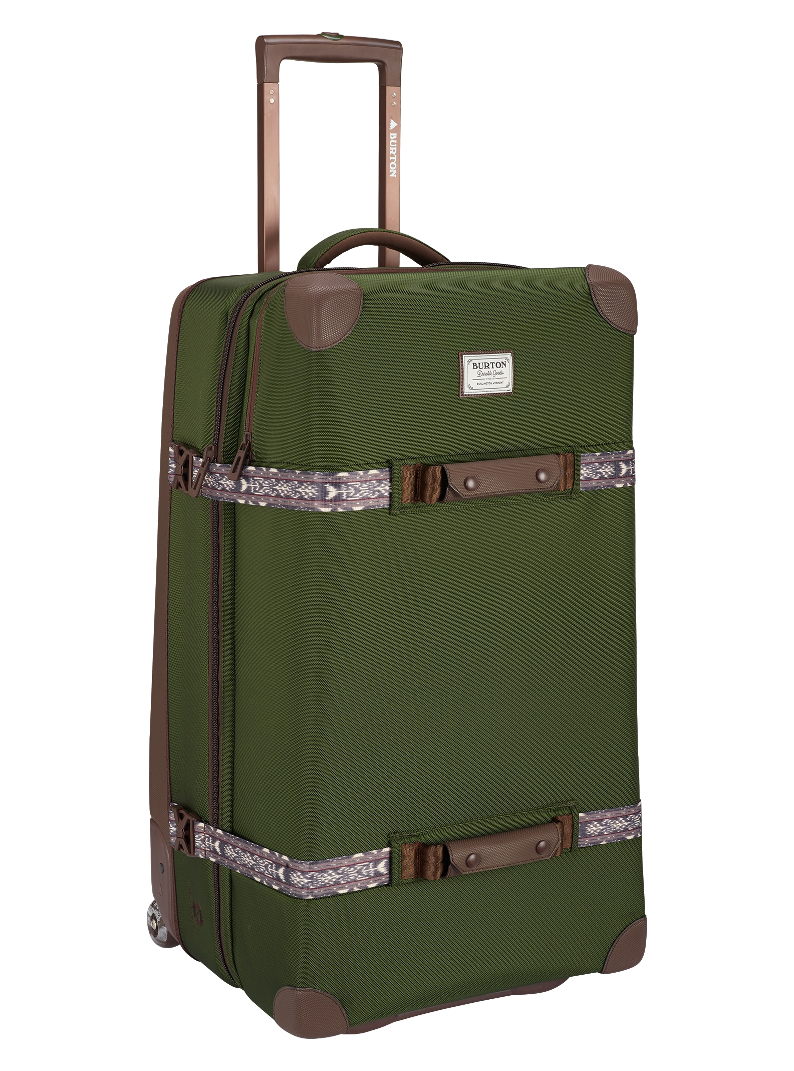 Burton - Valise à roulettes Wheelie Sub affichage en Rifle Green