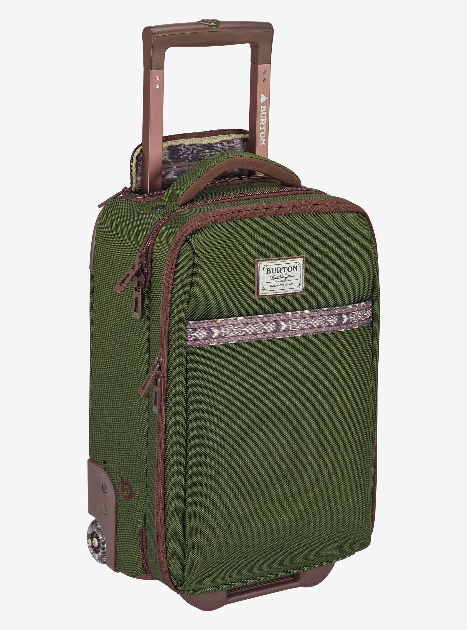 Burton Wheelie Flyer Travel Bag shown in Rifle Green
