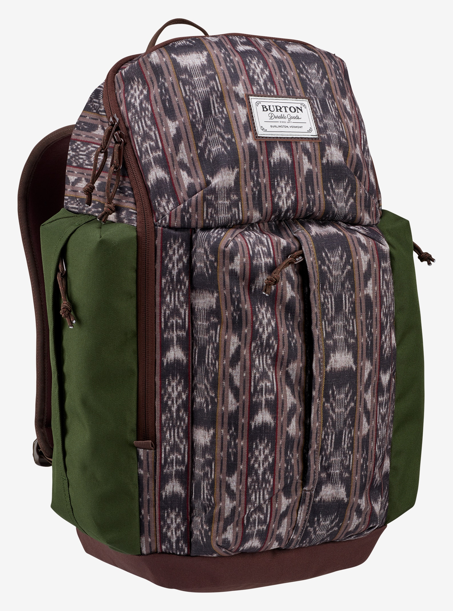 Burton Cadet Backpack shown in Guatikat Print