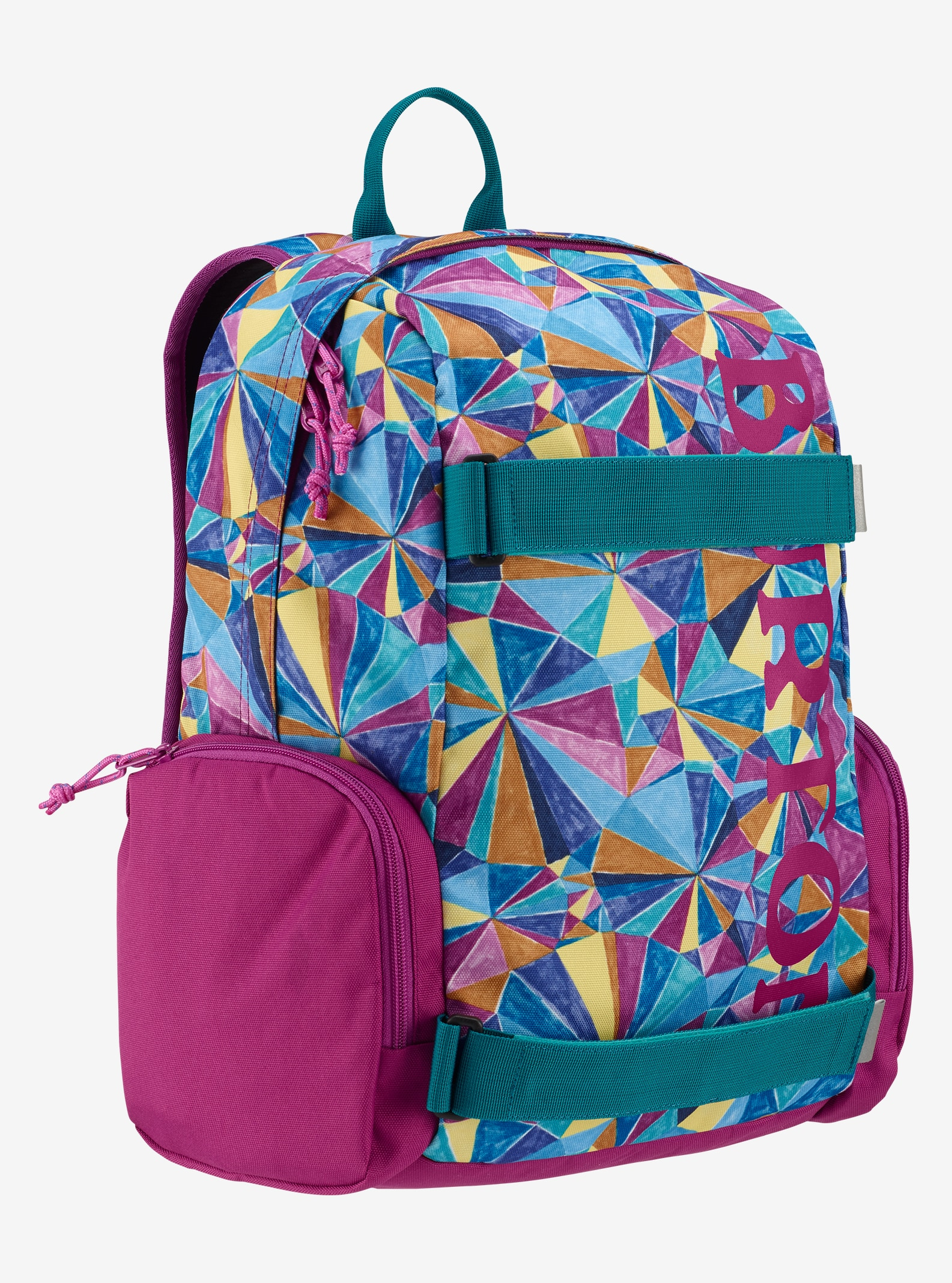 Burton Kids' Emphasis Backpack shown in Polka Diamond Print