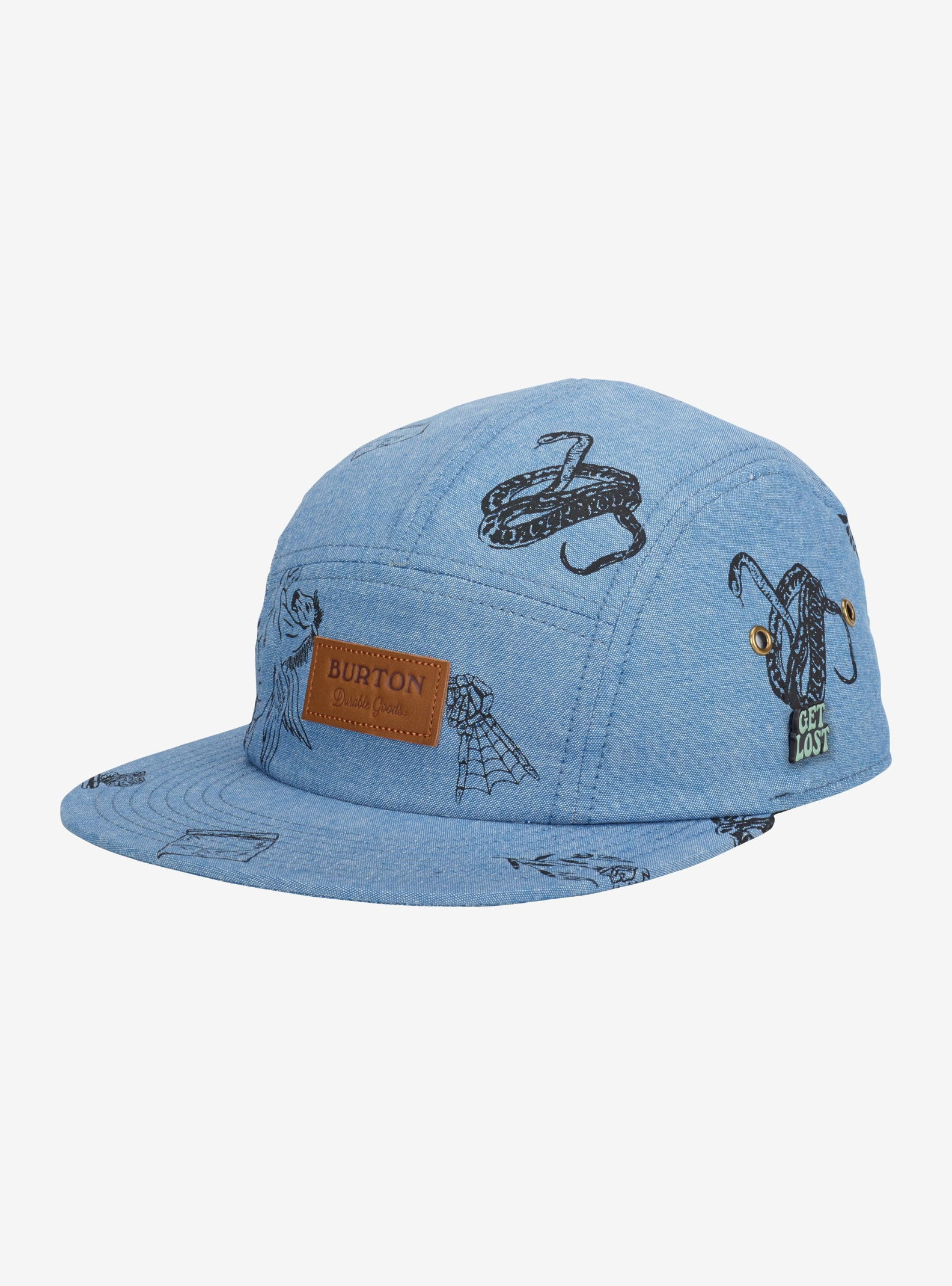 Burton Rainfly Hat shown in Chambray Freetime