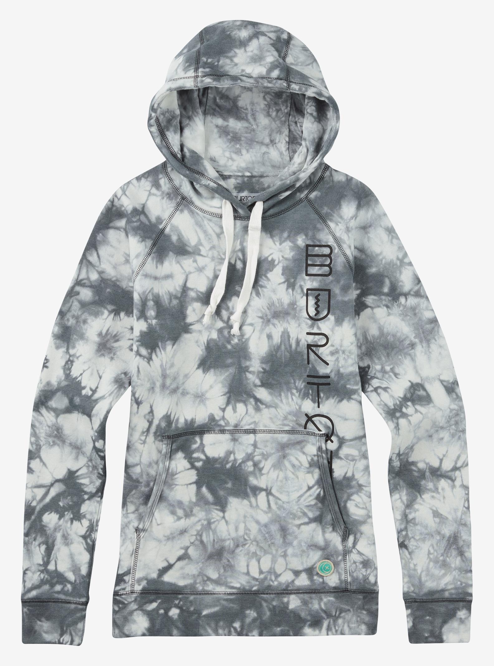 Burton Infinity Pullover Hoodie shown in True Black Tie Dye