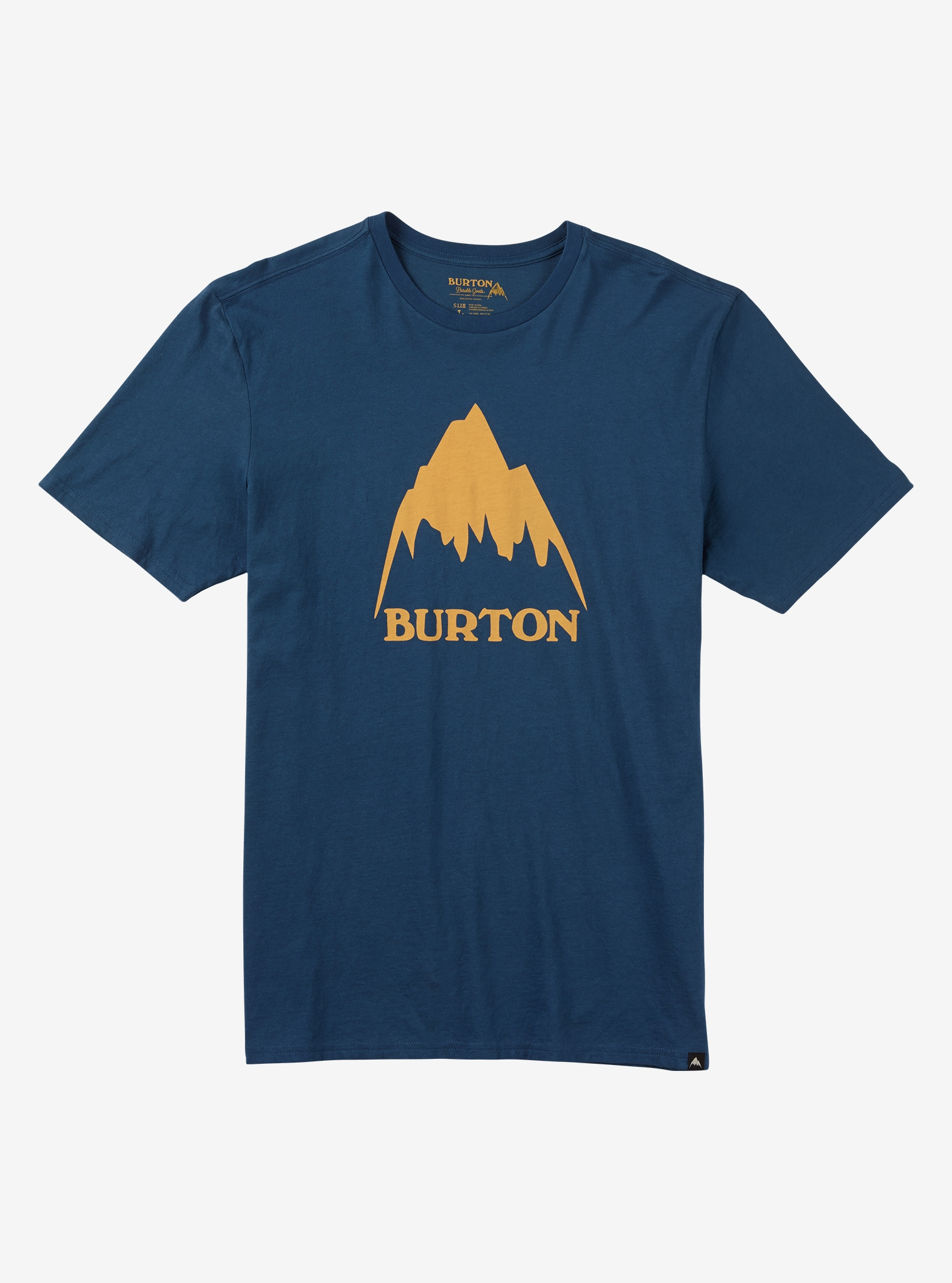Burton Classic Mountain Short Sleeve T Shirt shown in Indigo