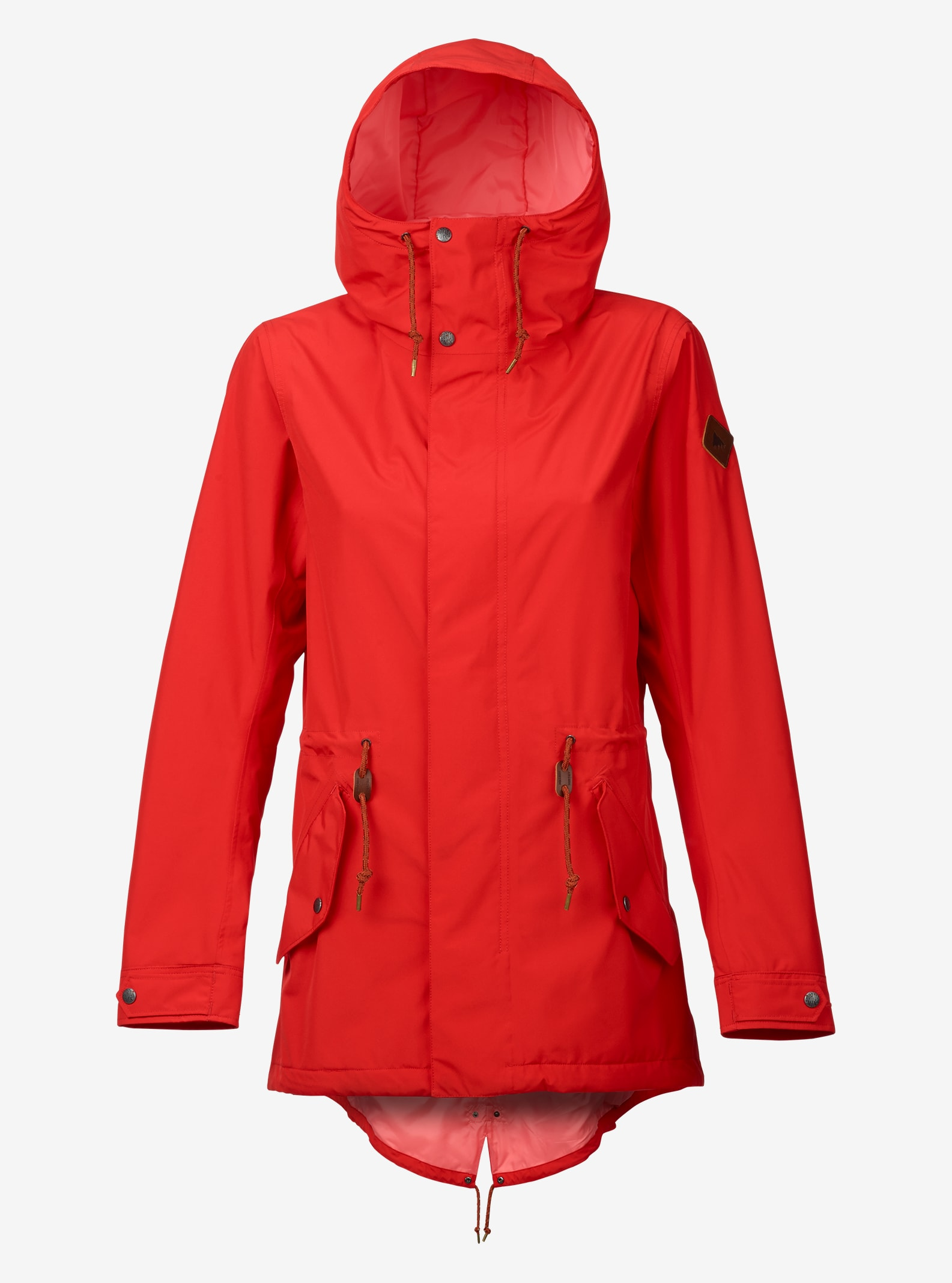 Burton Sadie Rain Jacket shown in Coral