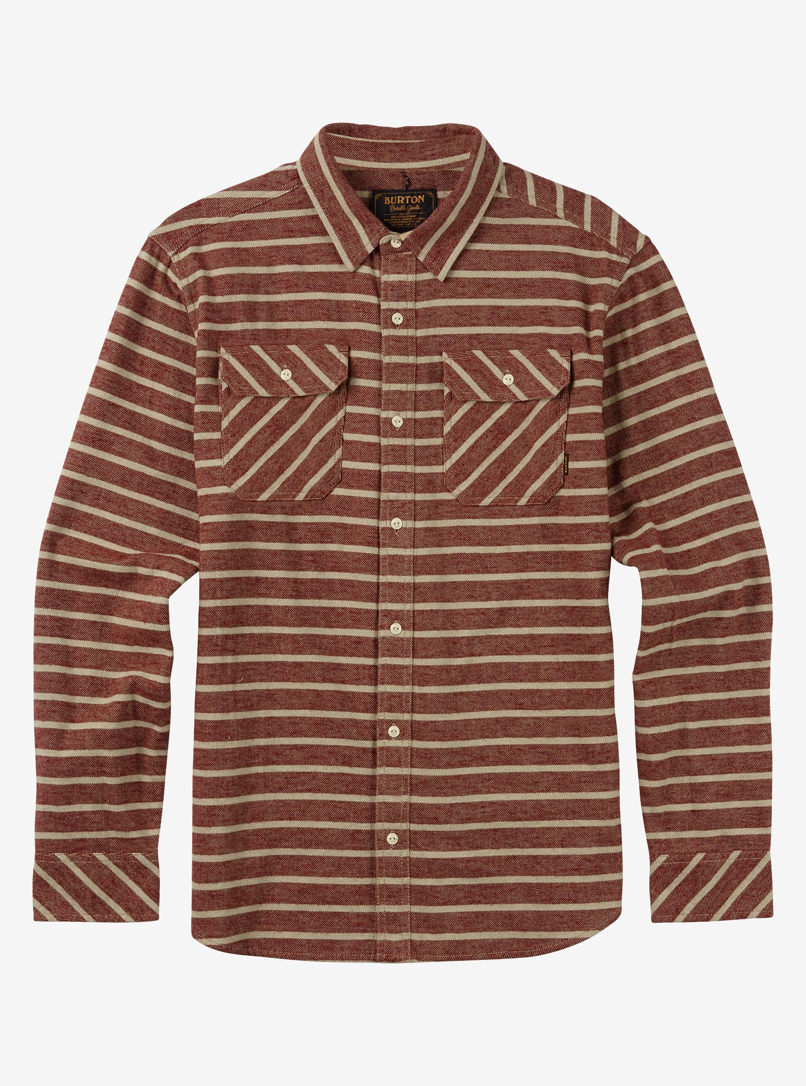 Burton Brighton Flannel shown in Rojo Dock Stripe