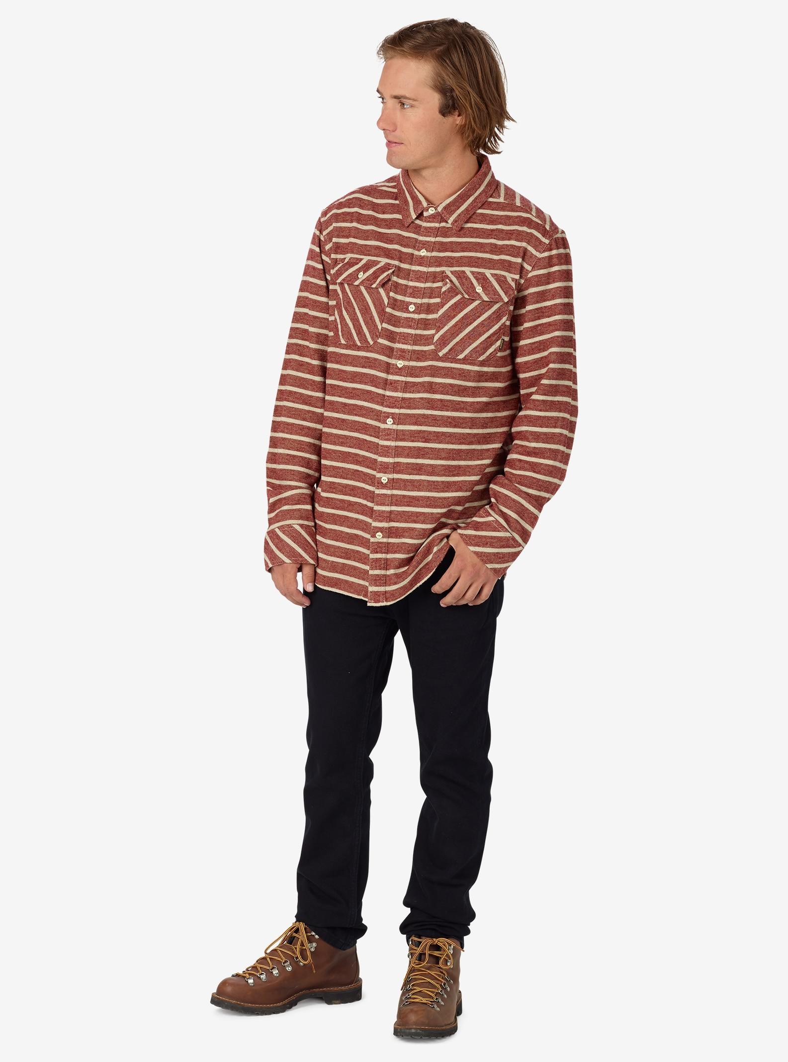 Burton Brighton Flannel shown in Rojo Dock Stripe