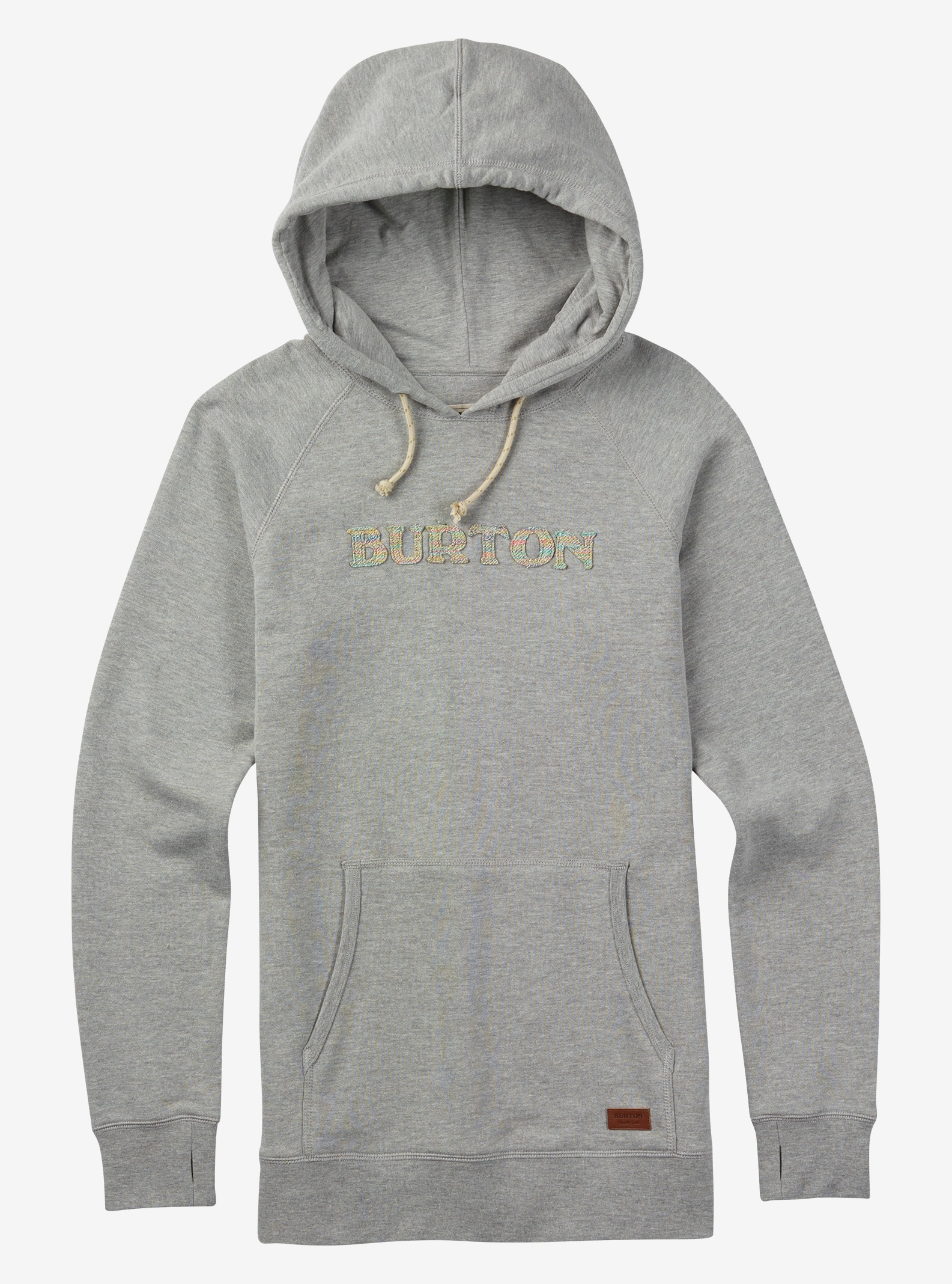 Burton Custom Pullover Hoodie shown in Gray Heather
