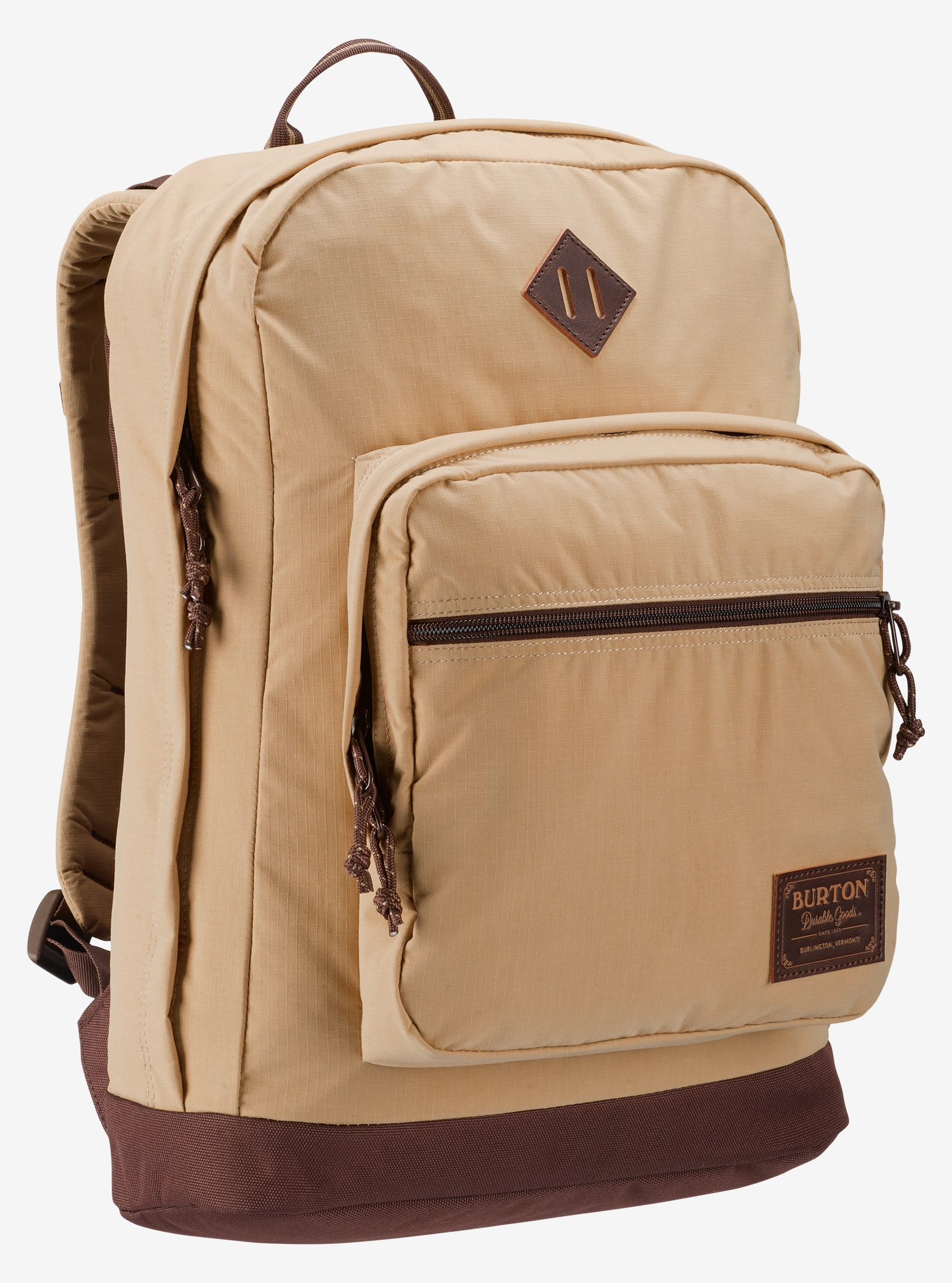 Burton Big Kettle Backpack shown in Putty Ripstop