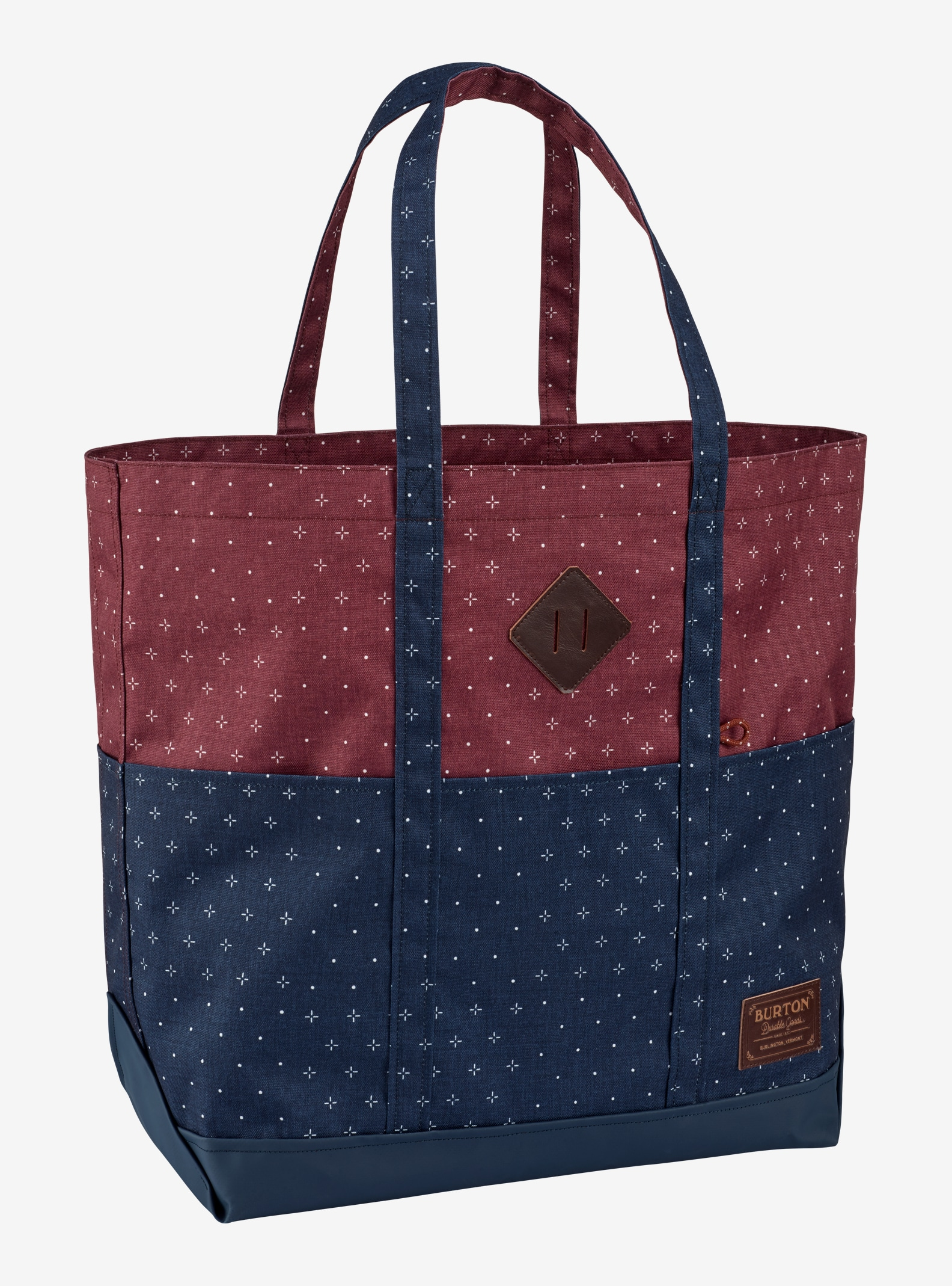 Burton Crate Tote Bag - Large shown in Mandana Print