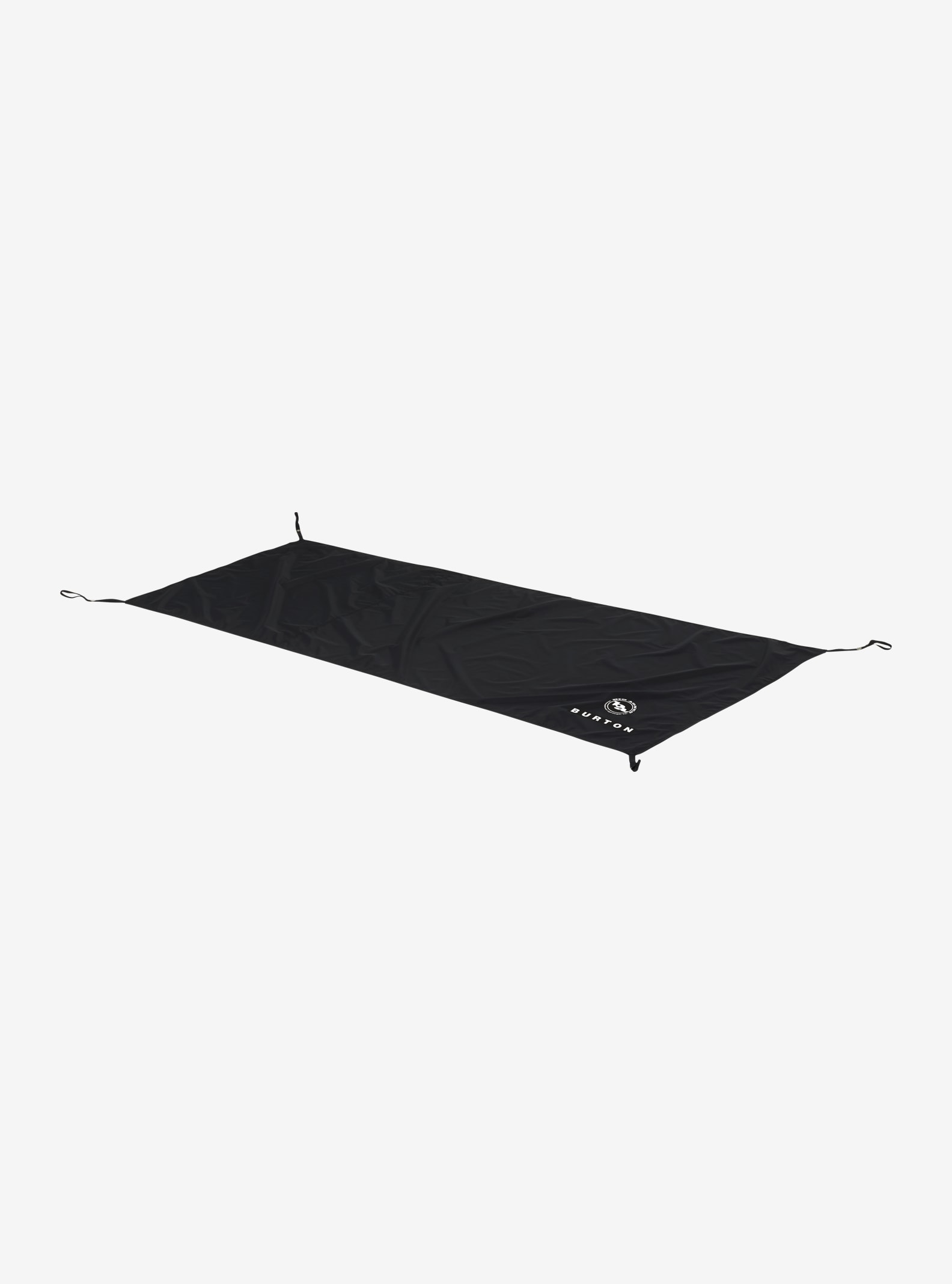 Big Agnes x Burton - Tapis de sol Blacktail 2 affichage en True Black