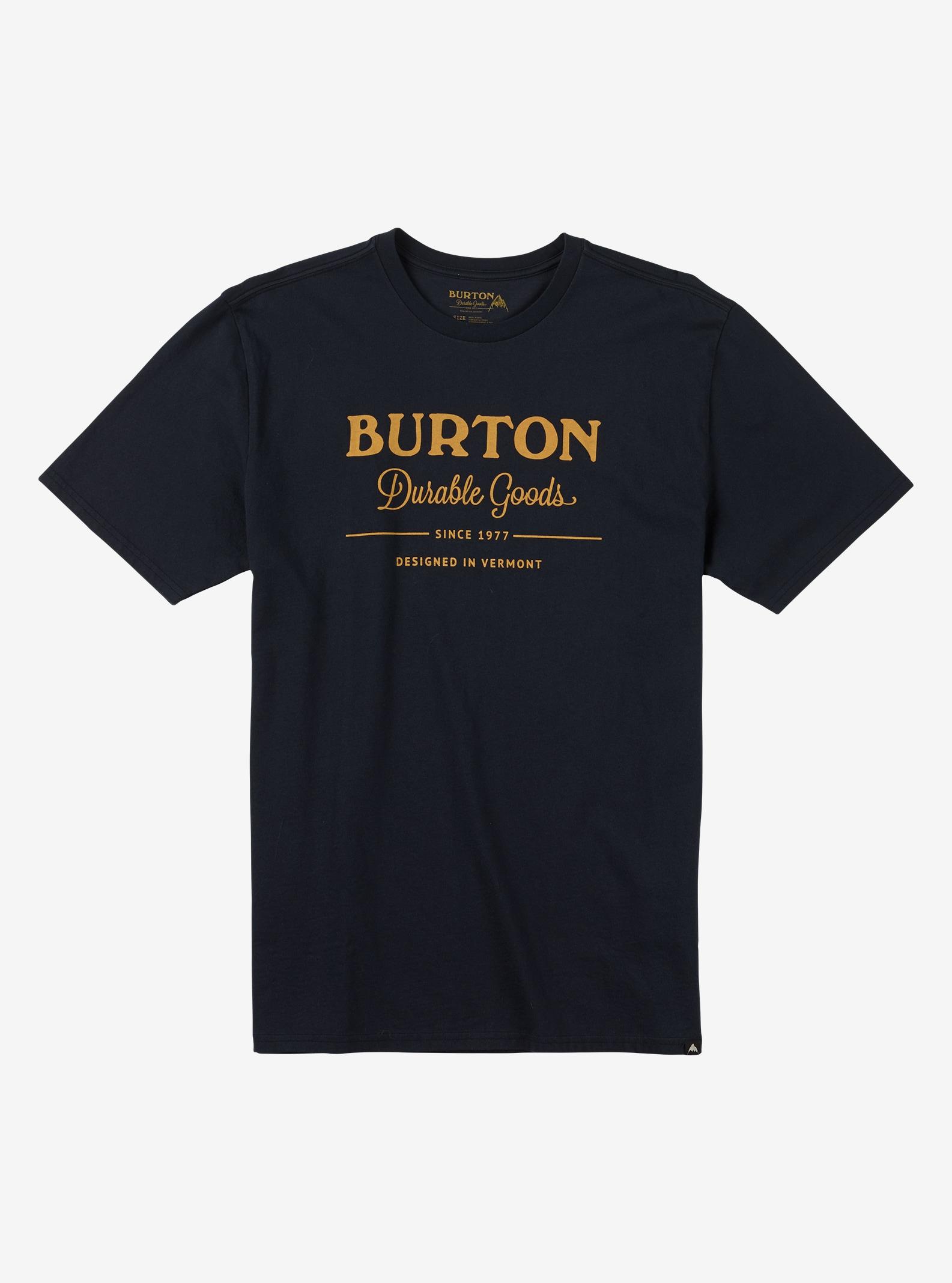 Burton Durable Goods Short Sleeve T Shirt shown in True Black