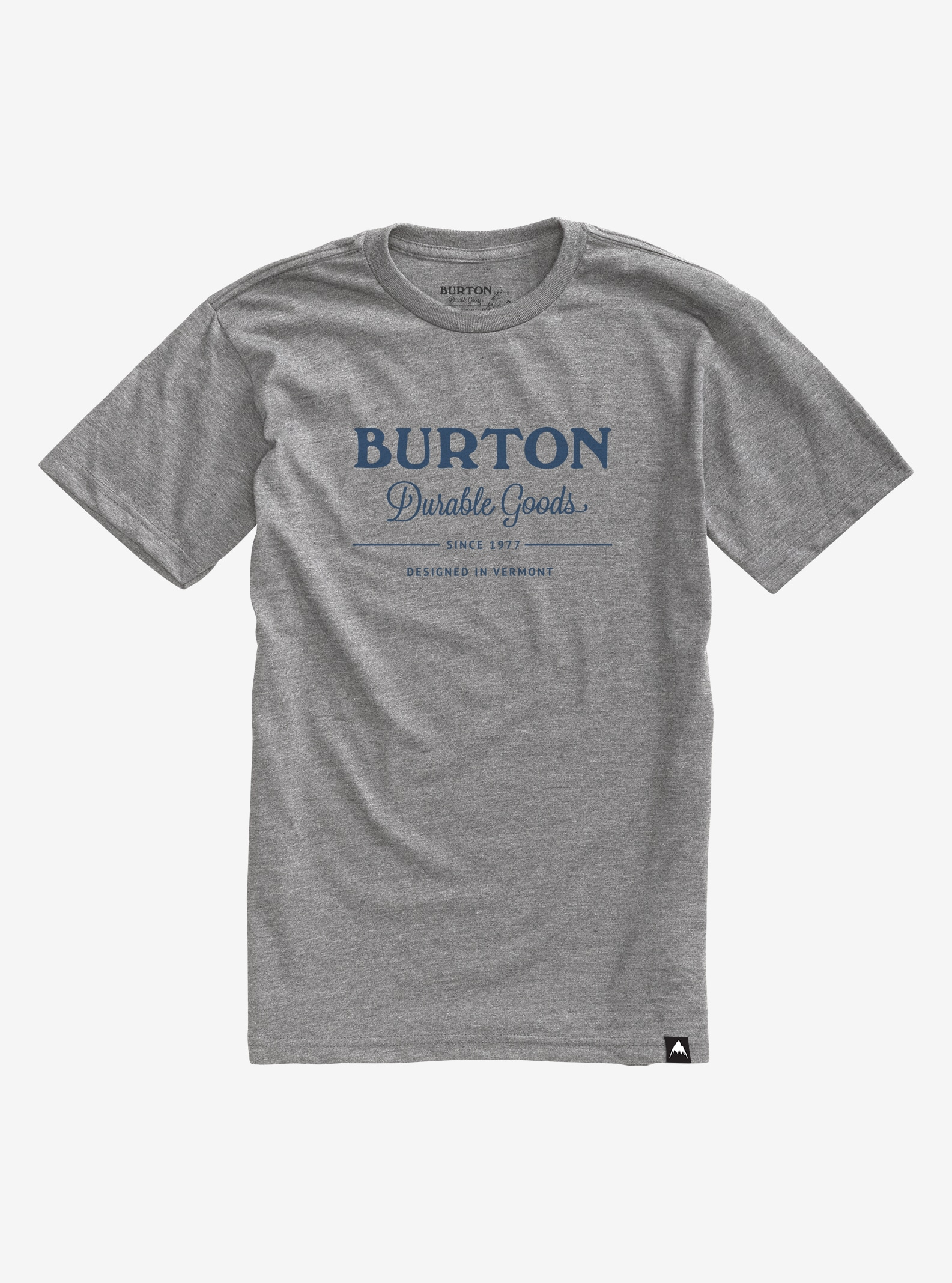 Burton Durable Goods Short Sleeve T Shirt shown in Gray Heather