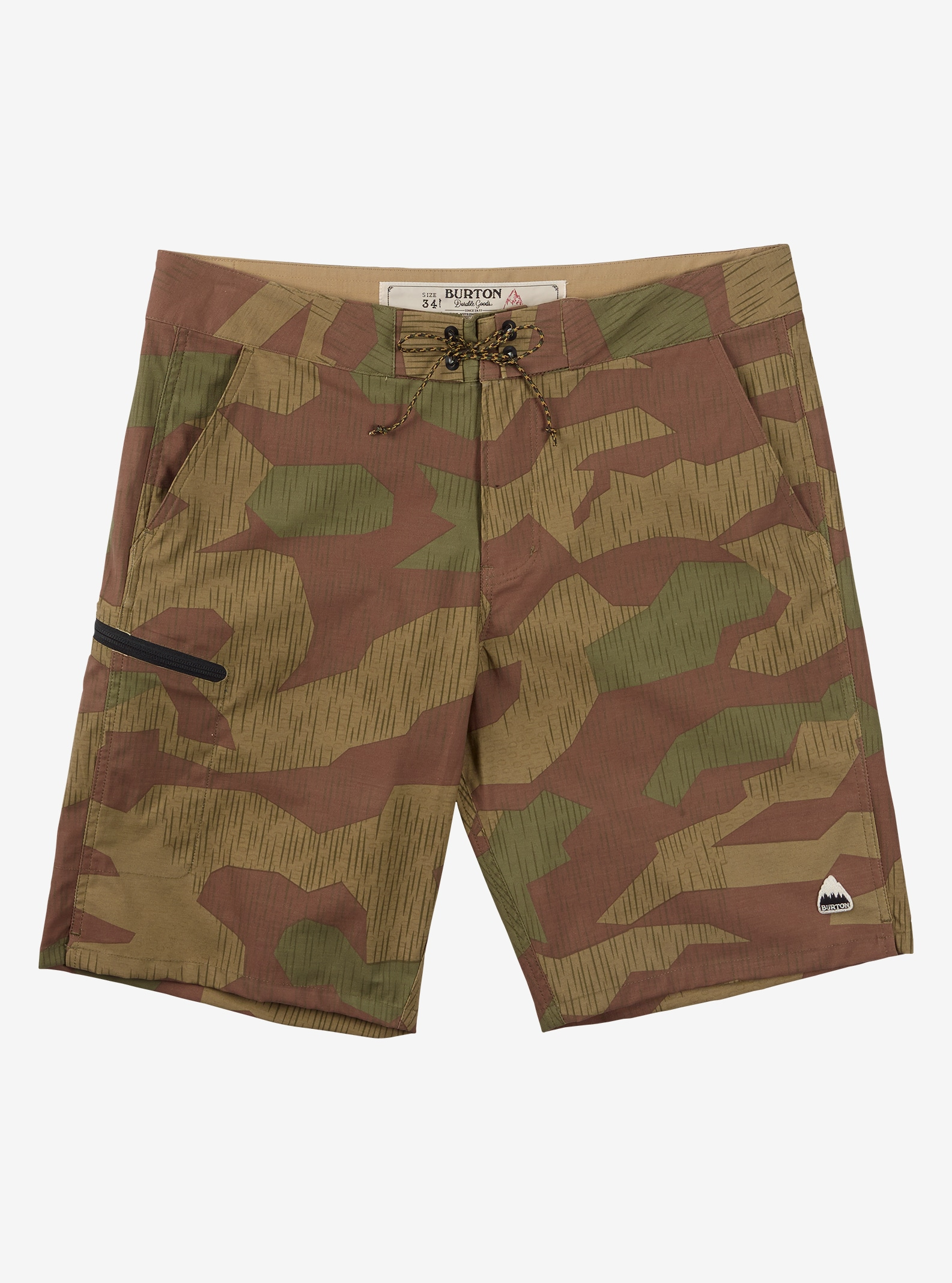 Burton Moxie Boardshort shown in Splinter Camo