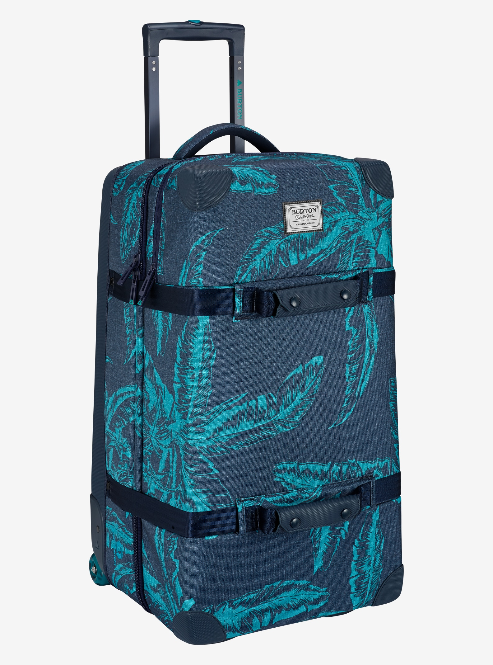Burton Wheelie Double Deck Travel Bag shown in Tropical Print