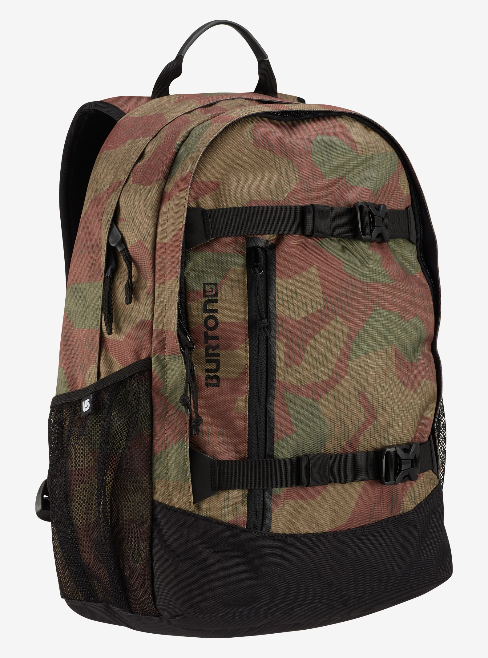 Burton Day Hiker 25L Backpack shown in Splinter Camo Print