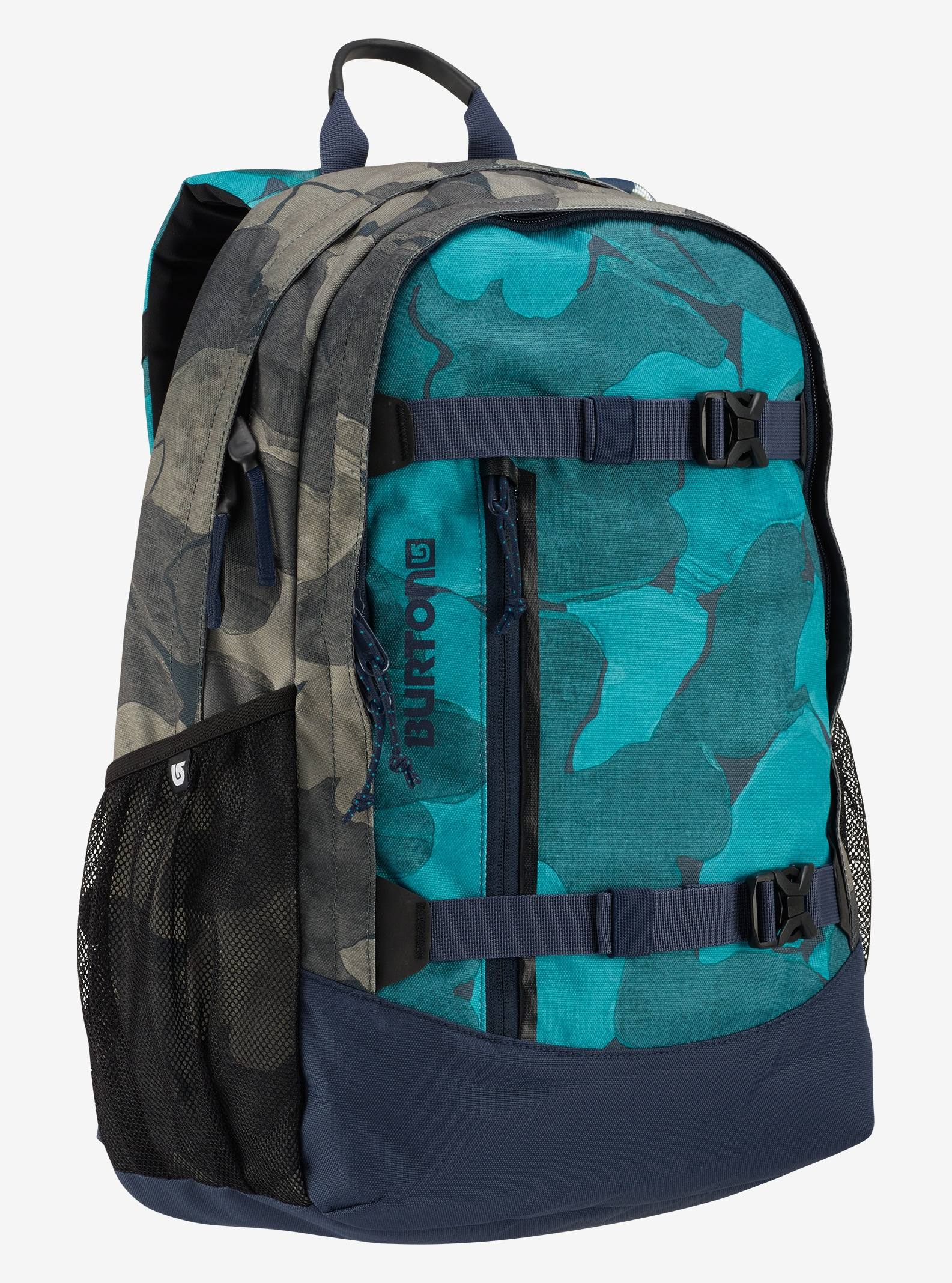 Burton Women's Day Hiker 23L Backpack shown in Pond Camo Print