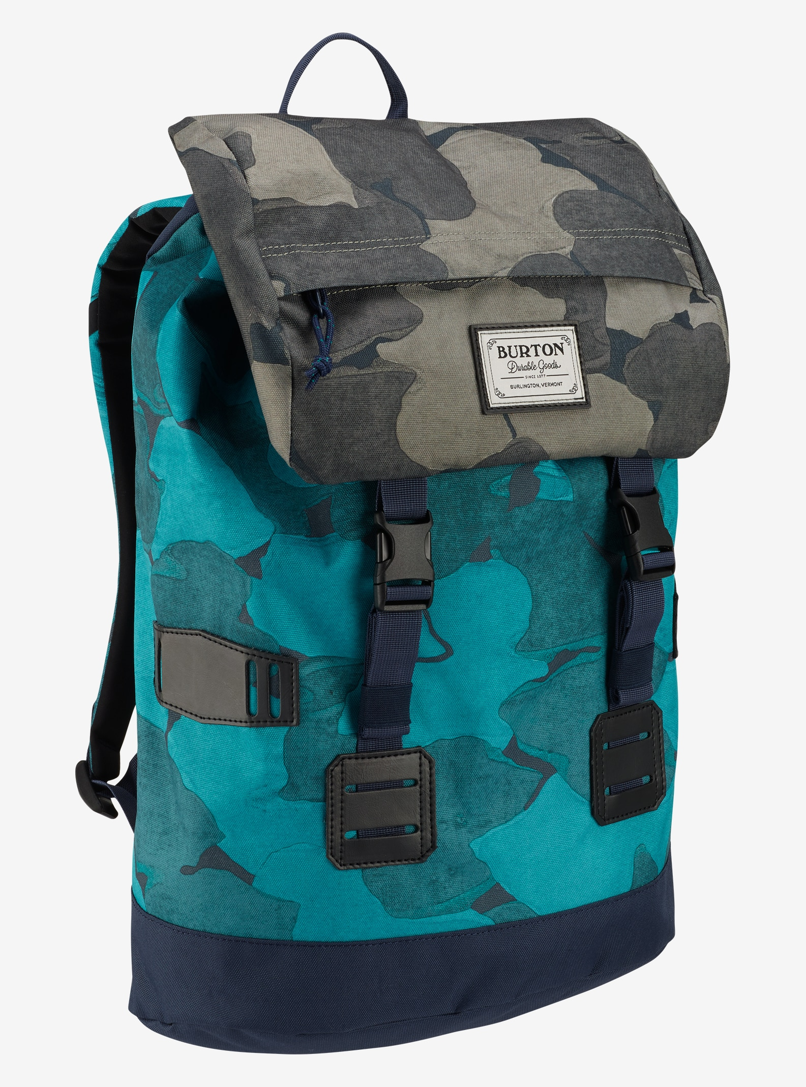 Burton Women's Tinder Backpack shown in Pond Camo Print