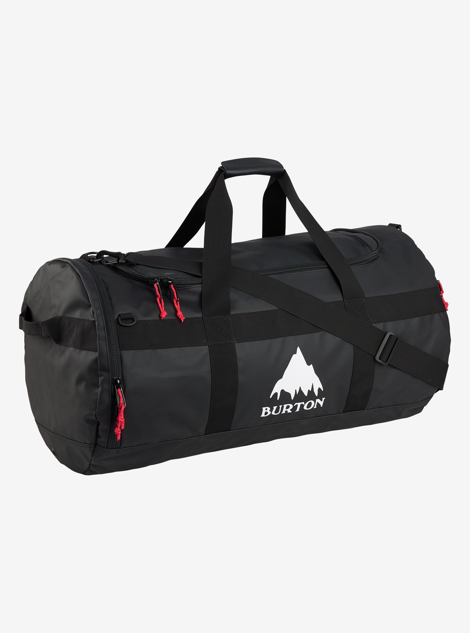 Burton Backhill Duffel Bag Large 90L shown in True Black Tarp