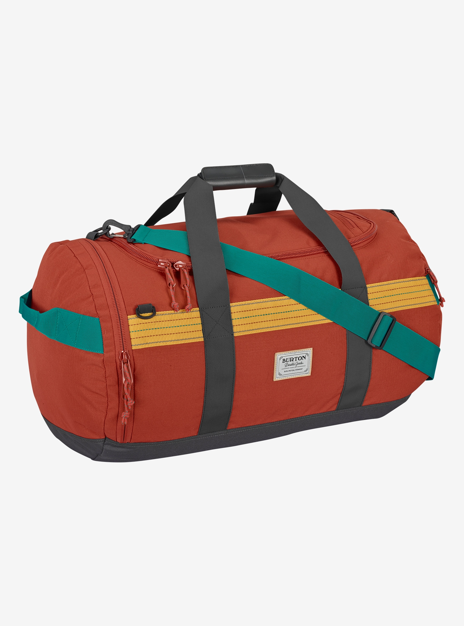 Burton Backhill Duffel Bag Medium 70L shown in Tandori Ripstop