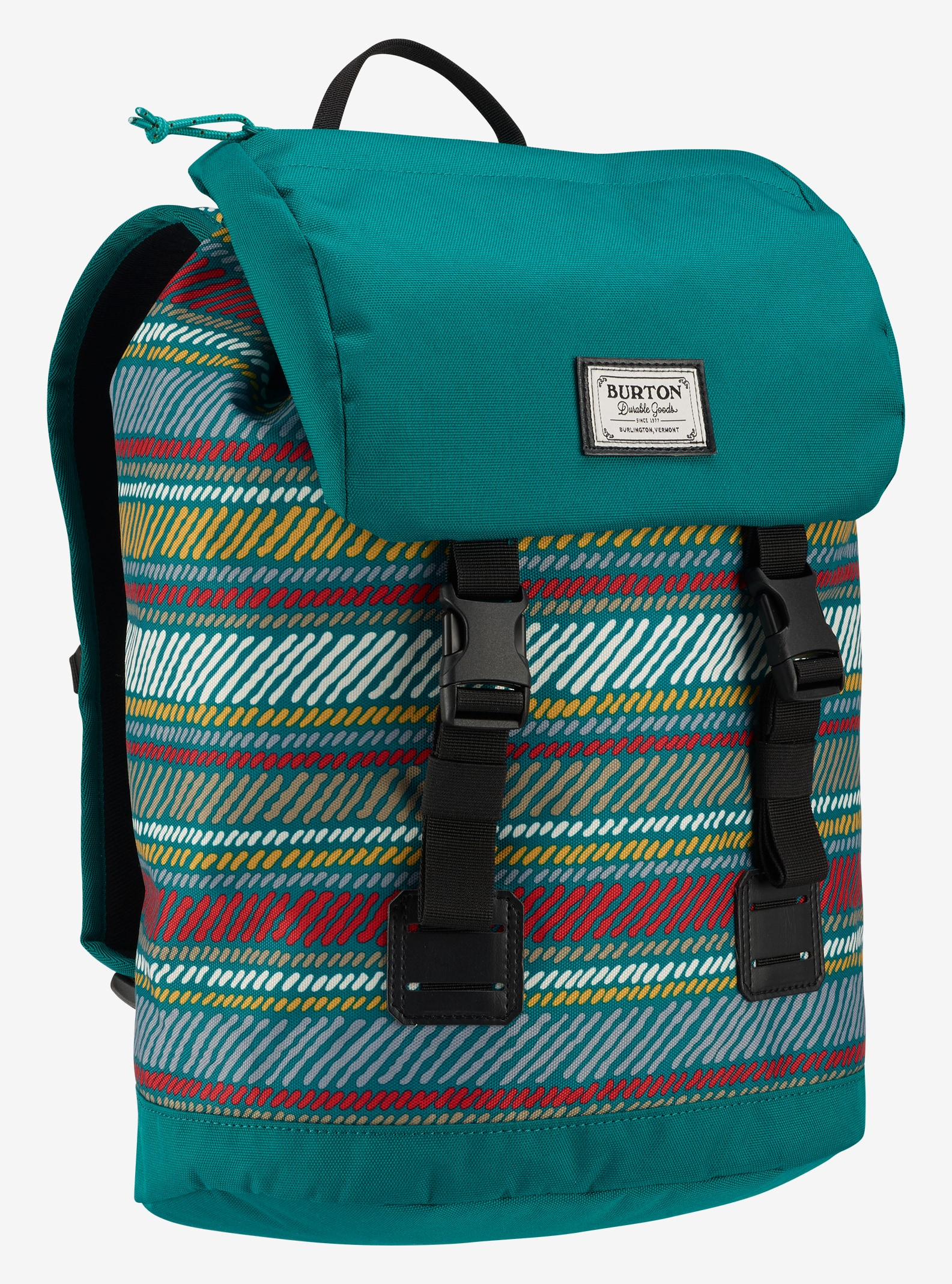 Burton Kids' Tinder Backpack shown in Paint Stripe Print