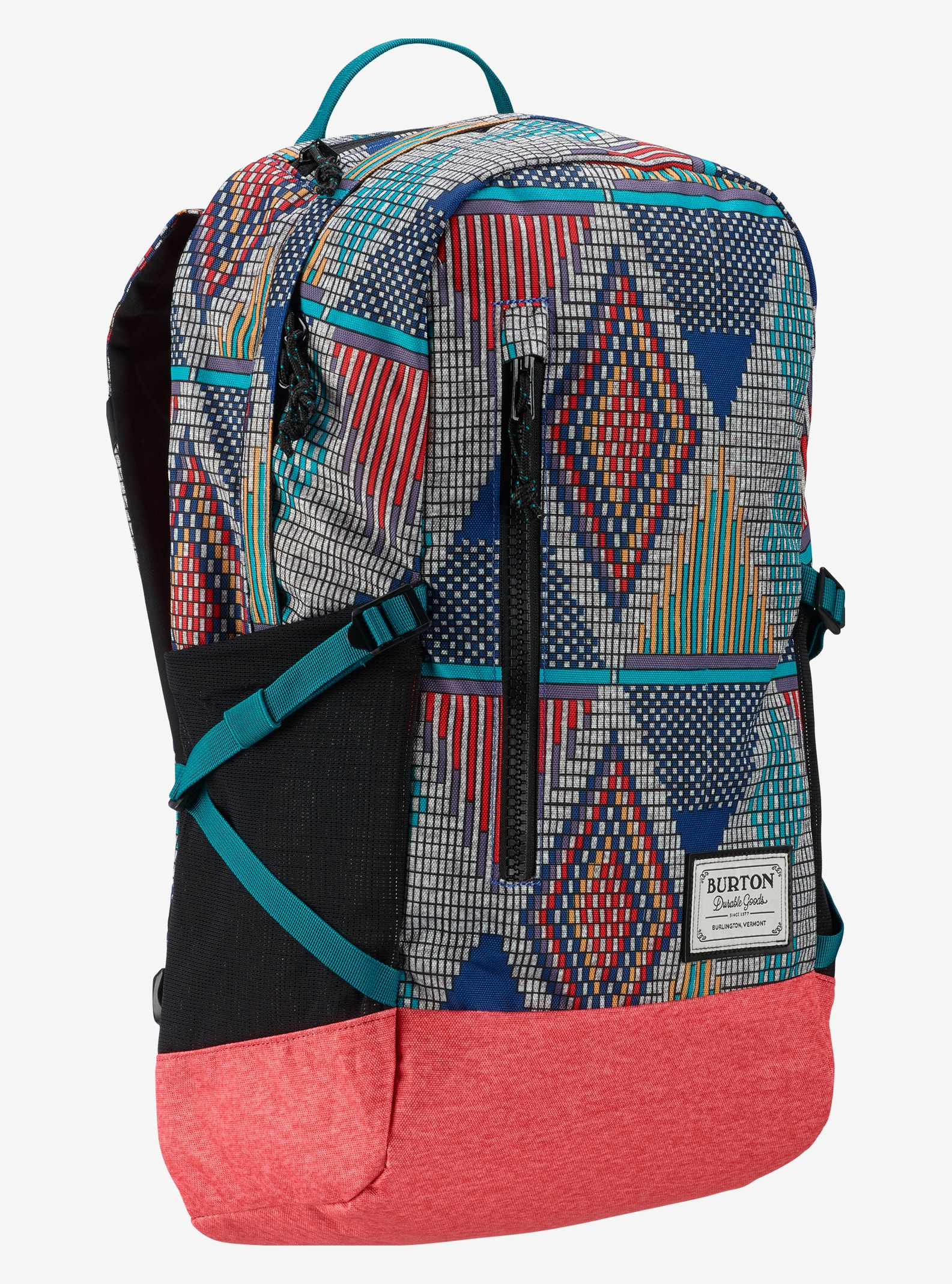 Burton Women's Prospect Backpack shown in De Geo Print