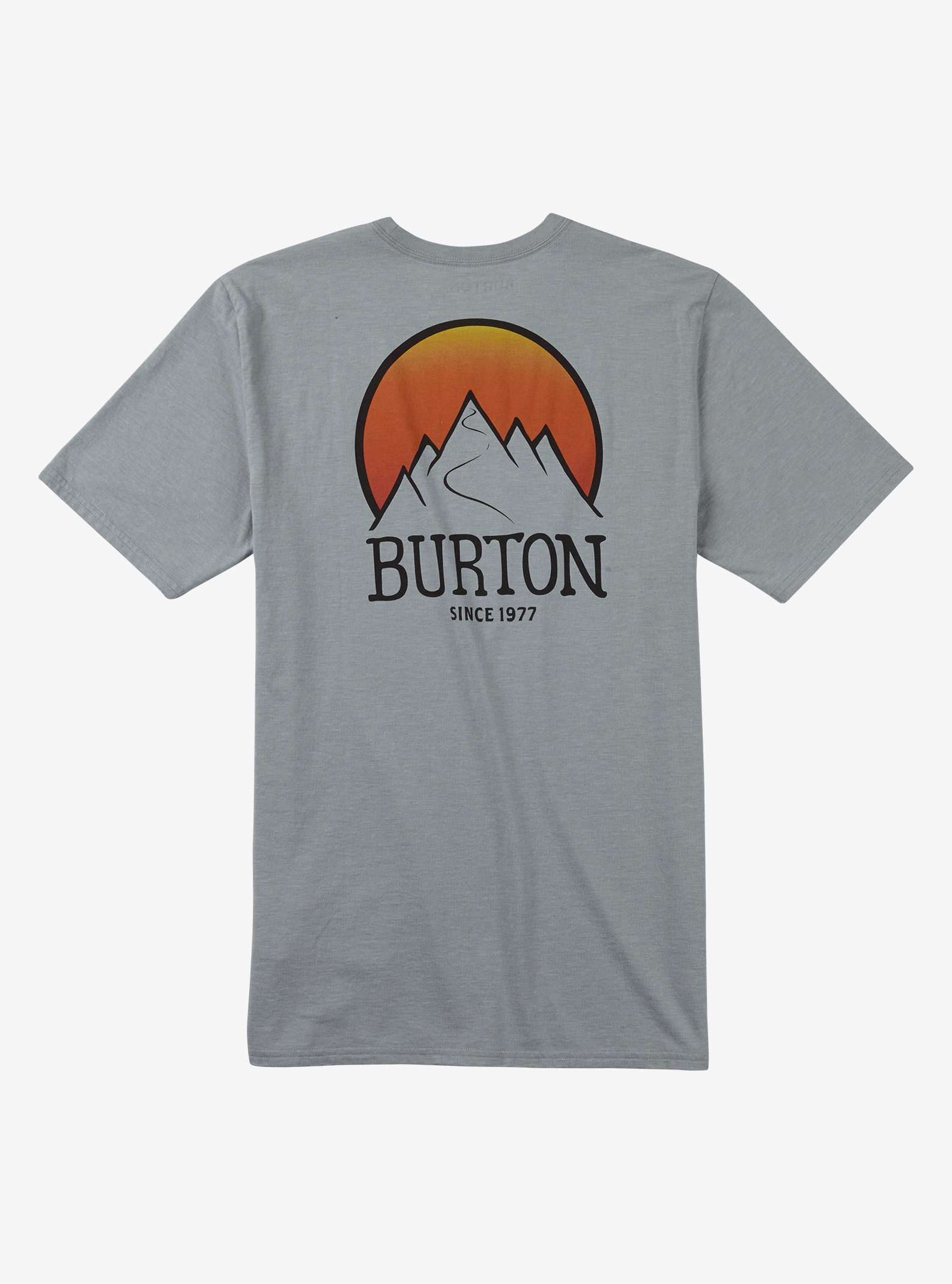 Burton Vista Short Sleeve T Shirt shown in Gray Heather