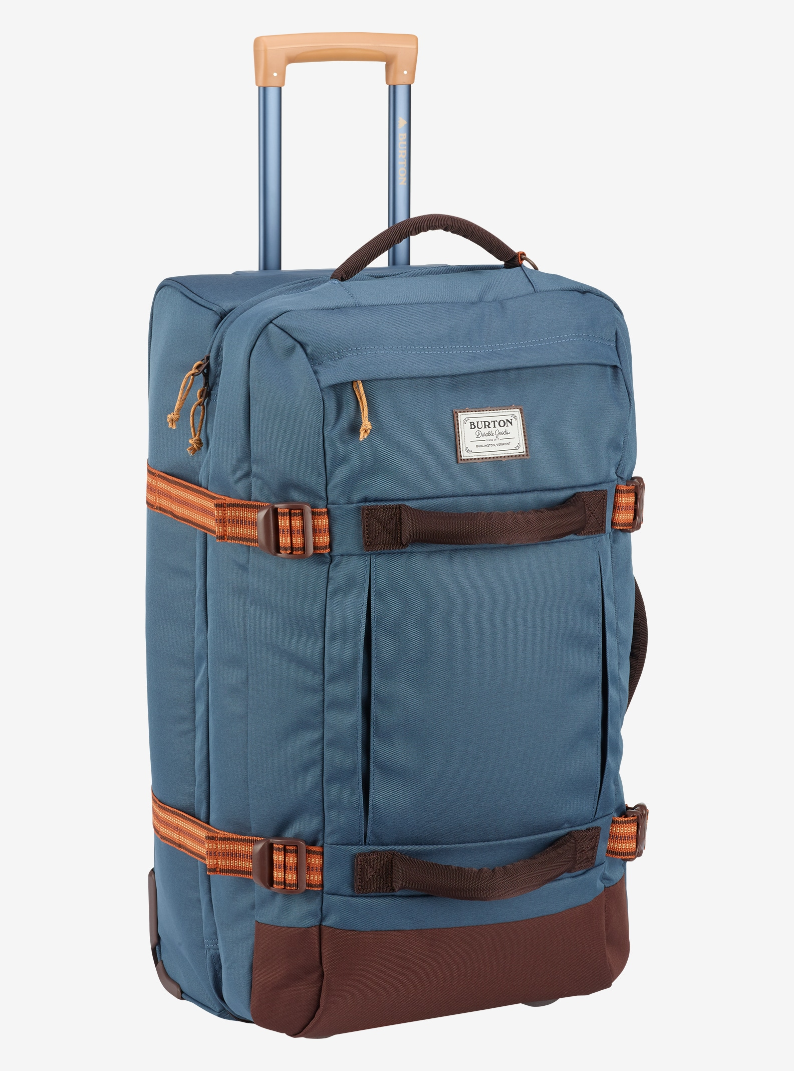 Burton Convoy Roller Travel Bag shown in Washed Blue