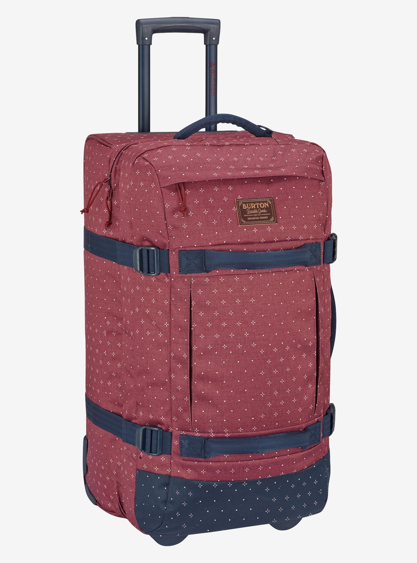 Burton Convoy Roller Travel Bag shown in Mandana Print