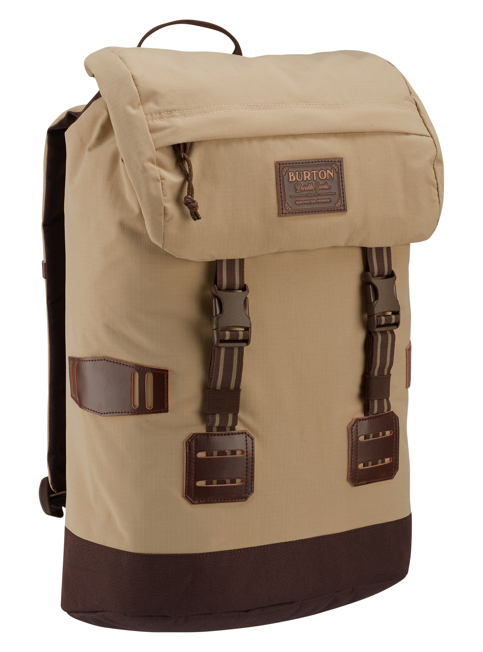 Burton Tinder Backpack shown in Putty Ripstop
