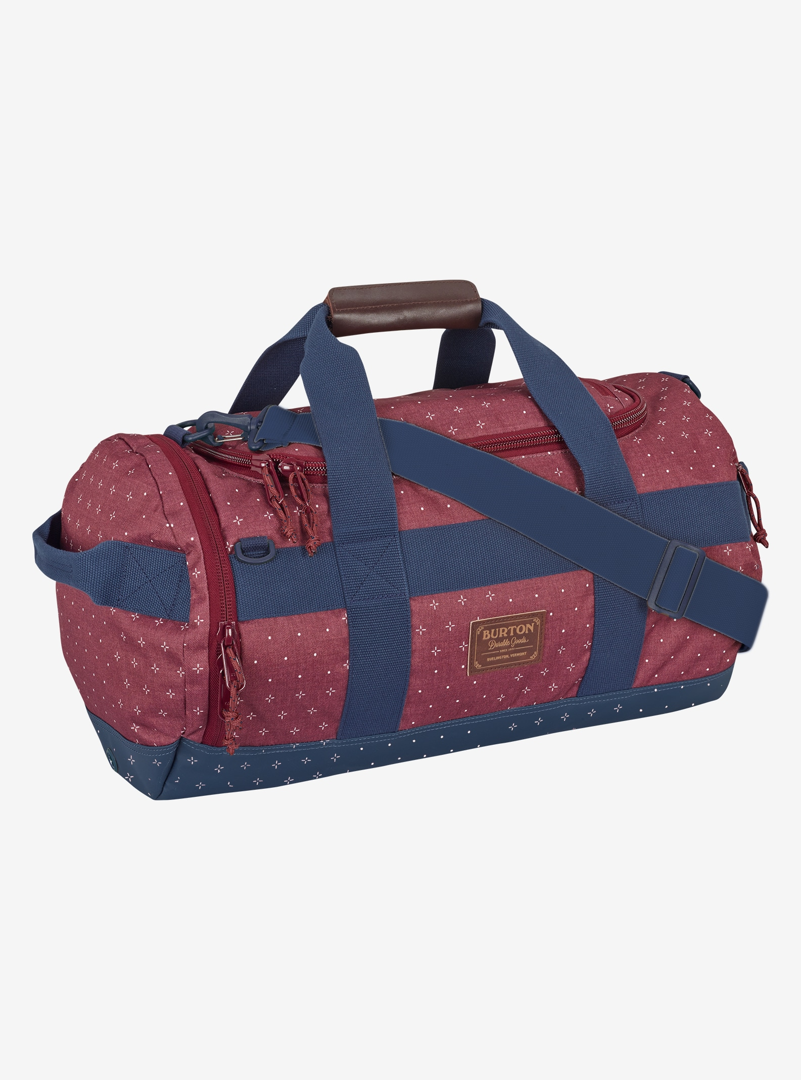 Burton Backhill Duffel Bag Small 40L shown in Mandana Print