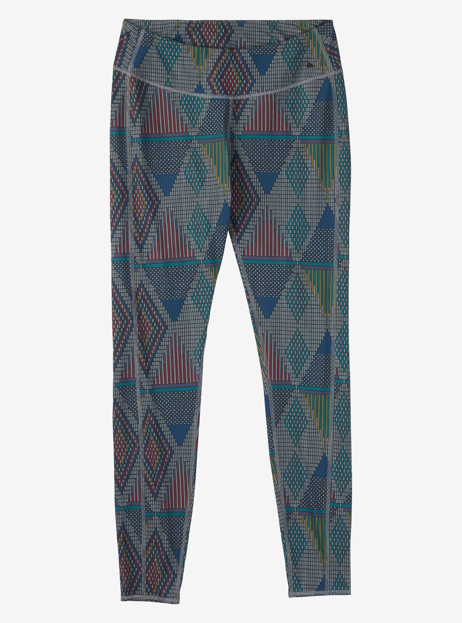 Burton Plasma Leggings angezeigt in Monument Heather De Geo