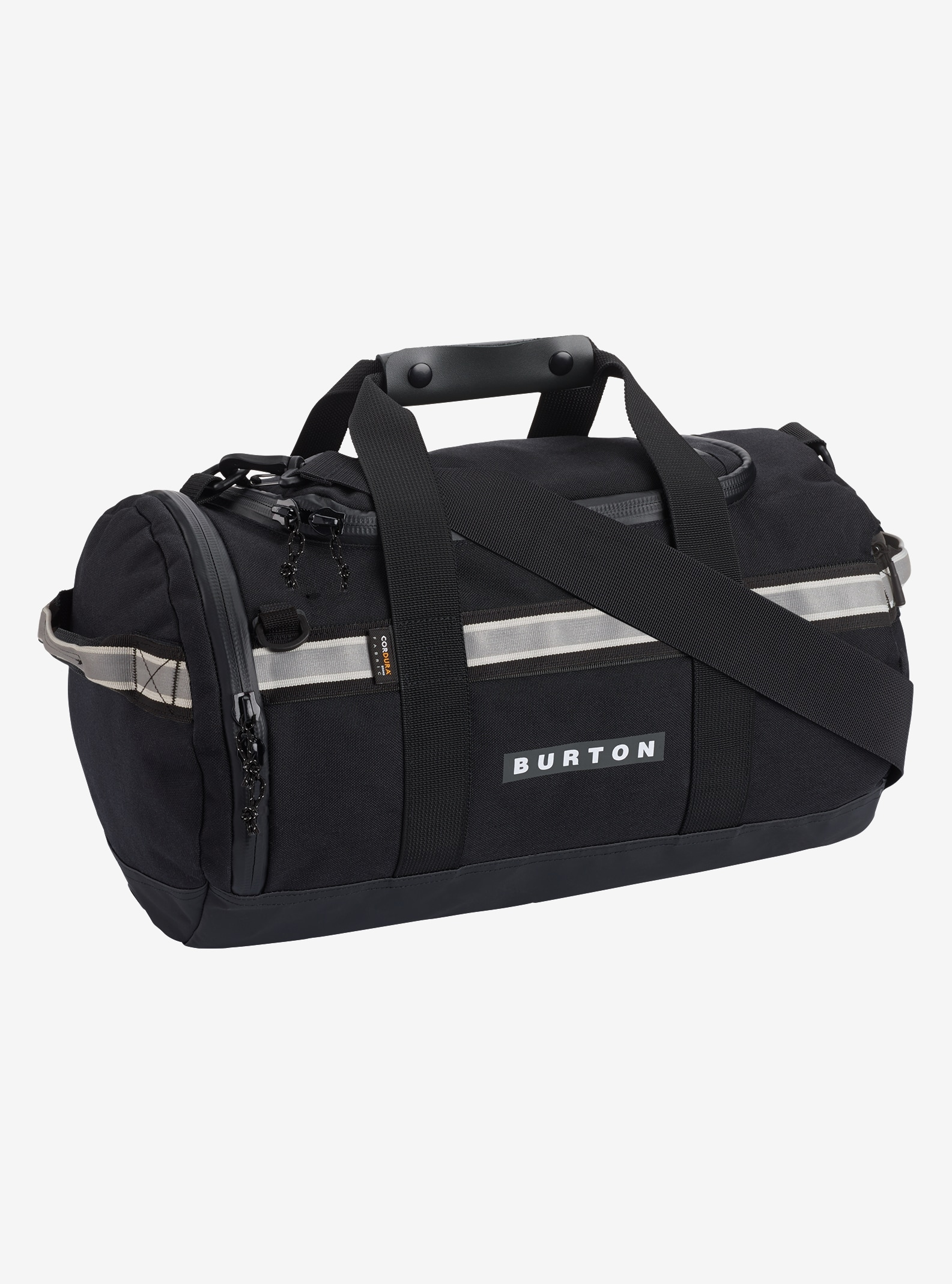 Burton Backhill Duffel Bag X-Small 25L shown in True Black Cordura®