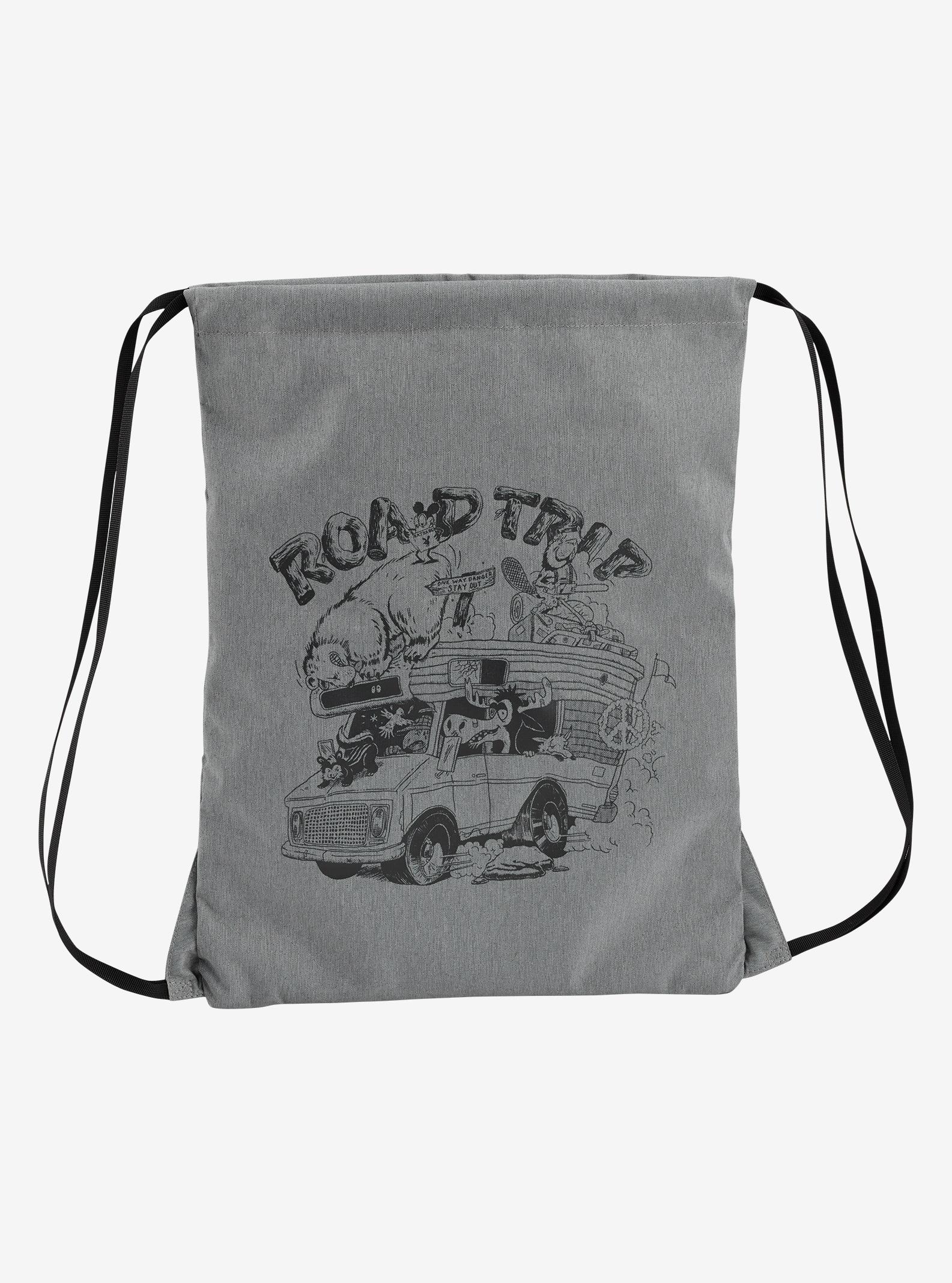Burton Cinch Backpack shown in Grey Heather