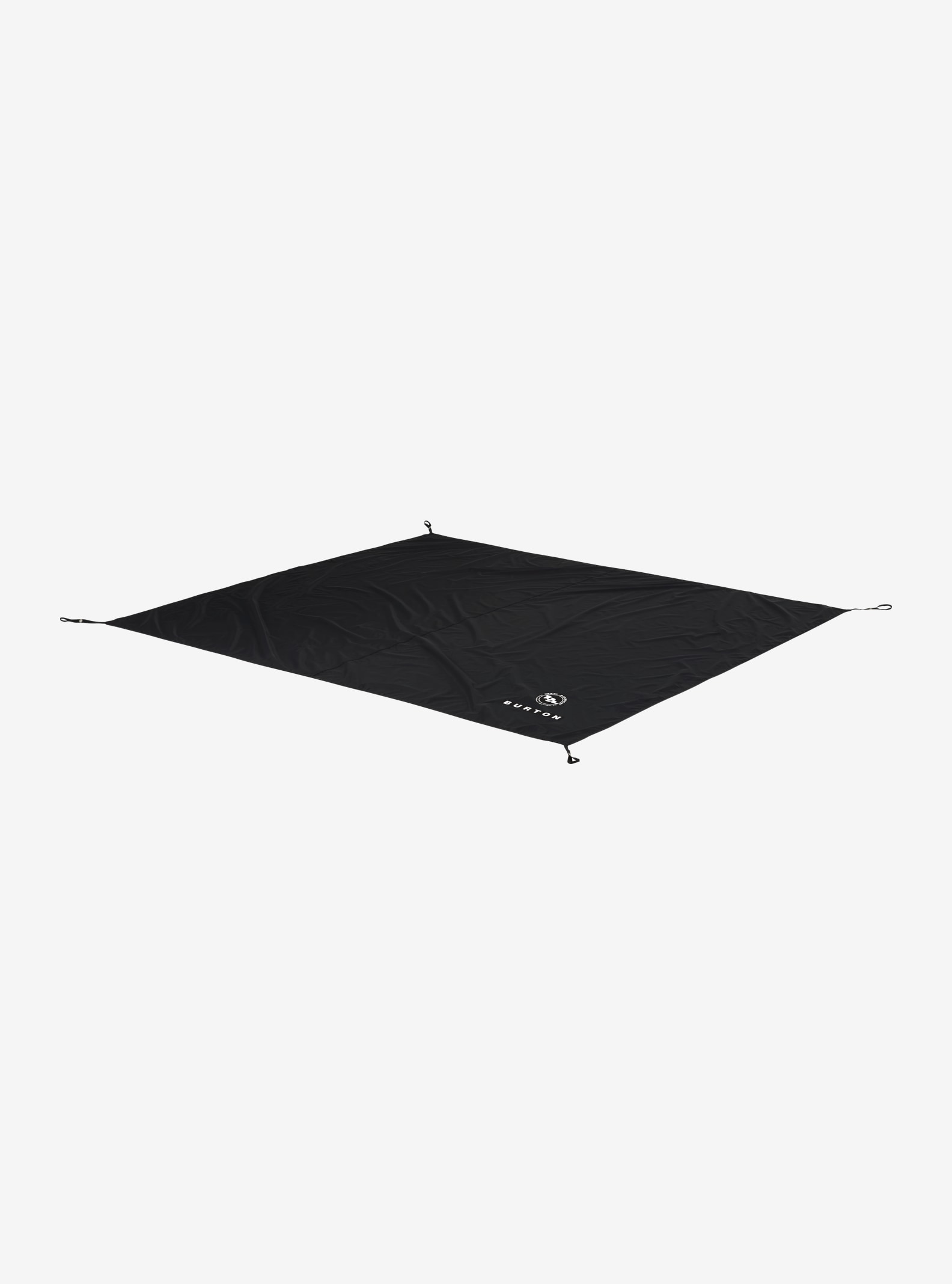 Big Agnes x Burton - Tapis de sol Rabbit Ears 6 affichage en True Black