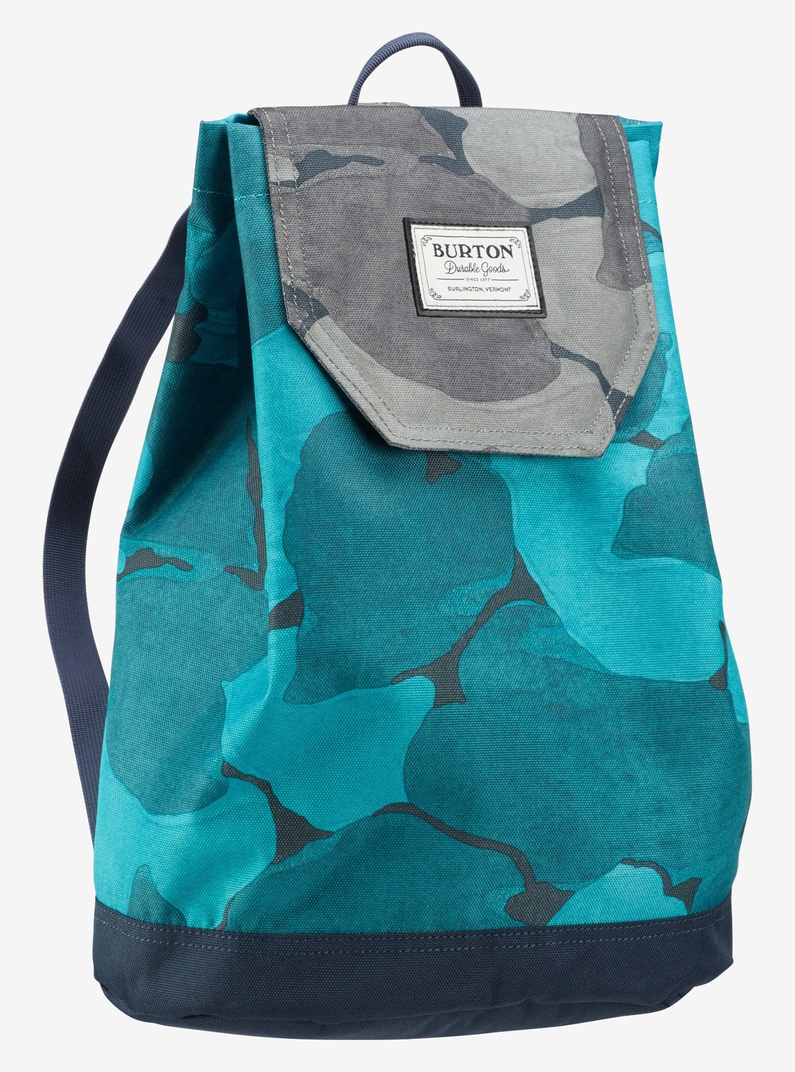 Burton Women's Parcel Backpack shown in Pond Camo Print