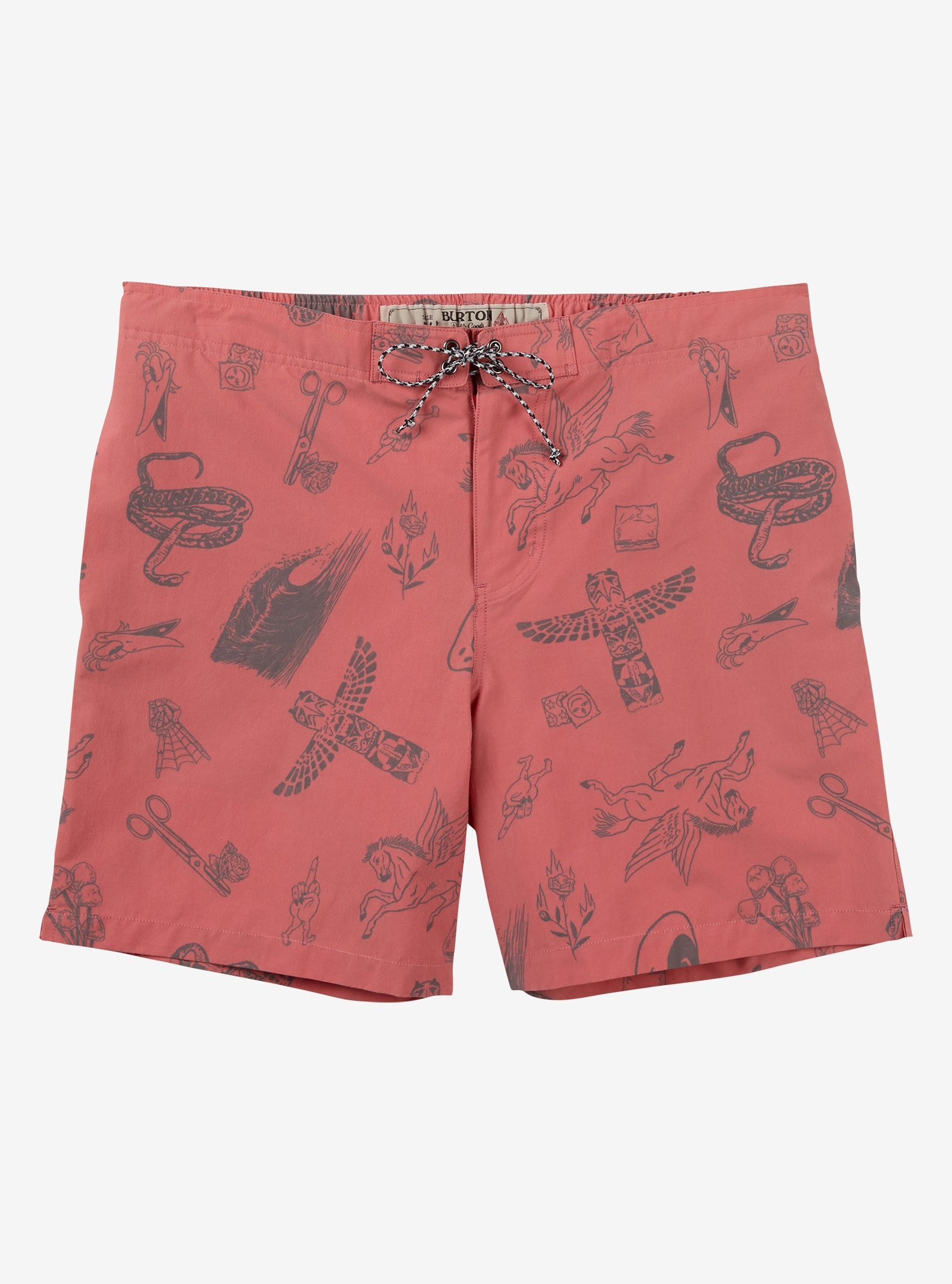 Burton Creekside Boardshort shown in Tandori Freetime
