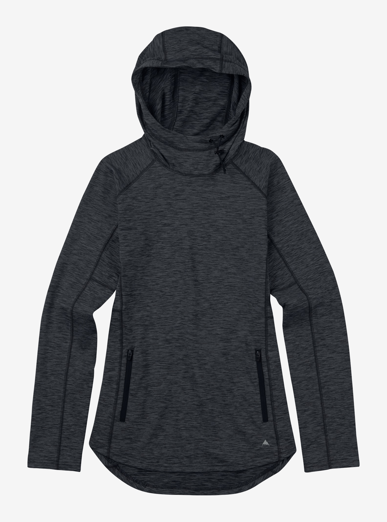Burton - Pull à capuche Crystal affichage en True Black Heather