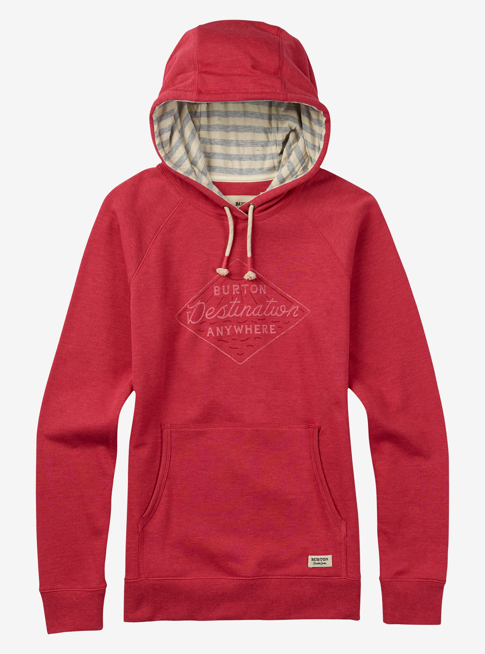 Burton Moon Rise Hoodie angezeigt in Berry Heather