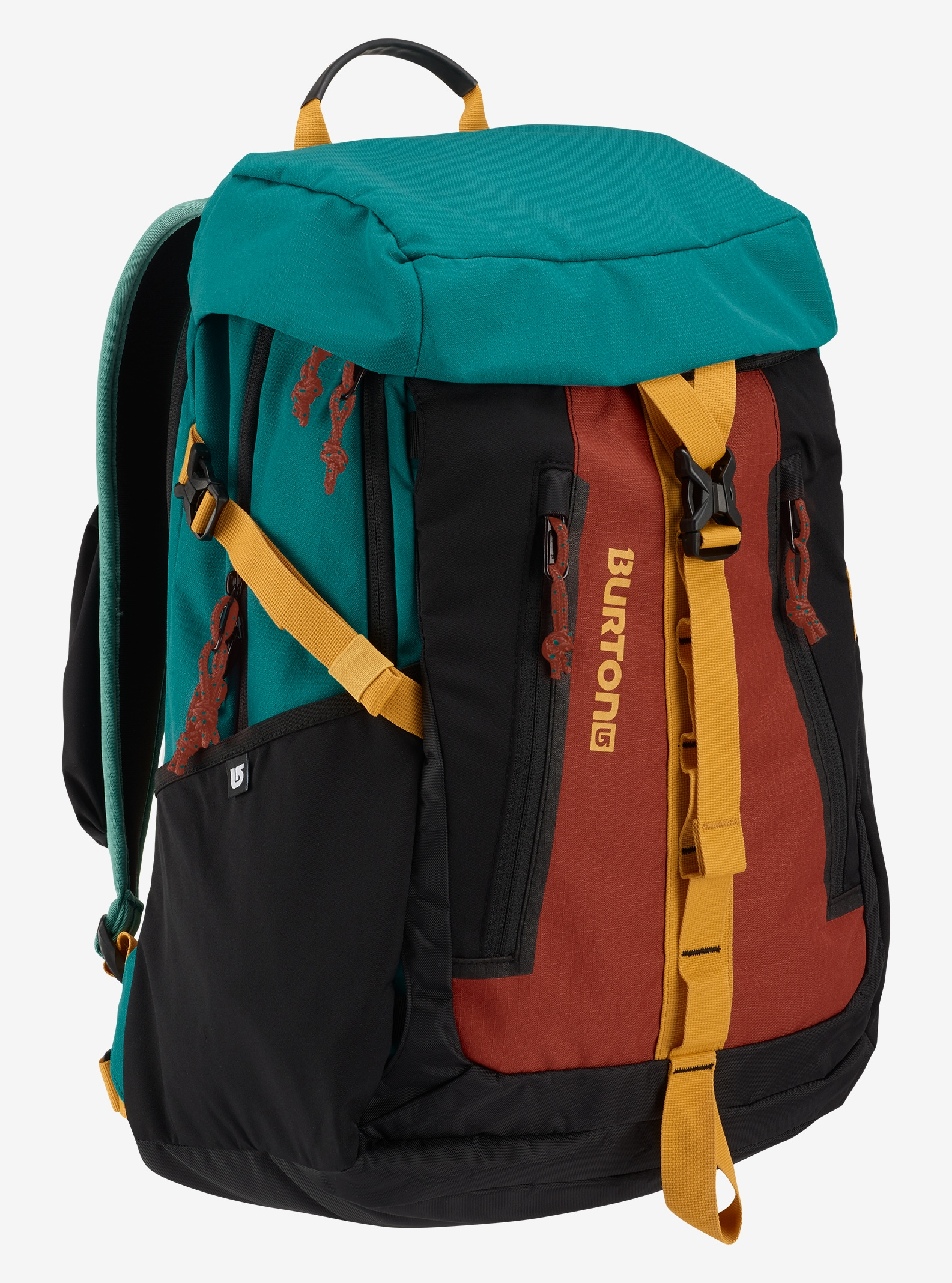 Burton Day Hiker Pinnacle 31L Backpack shown in Tandori Ripstop