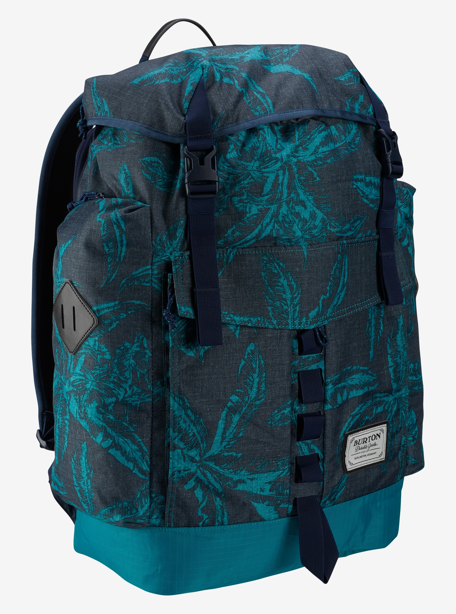 Burton Fathom Backpack shown in Tropical Print